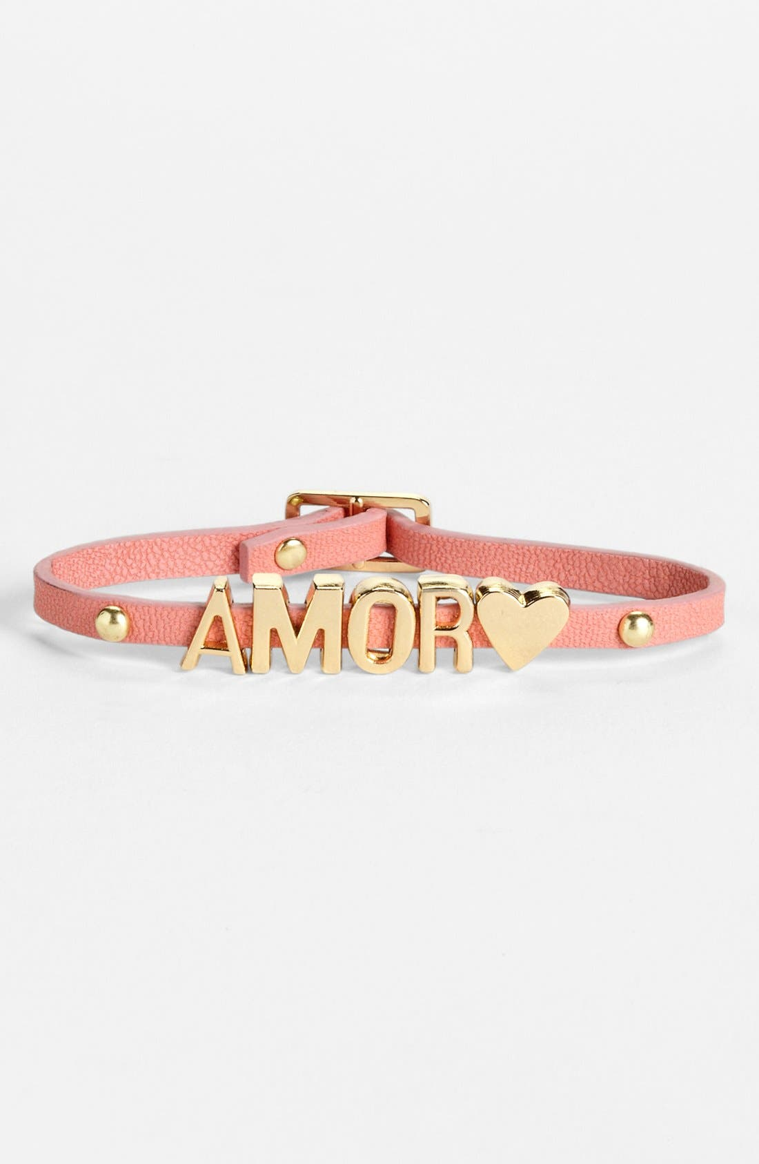 Alternate Image 1 Selected - BCBGeneration Affirmation Bracelet