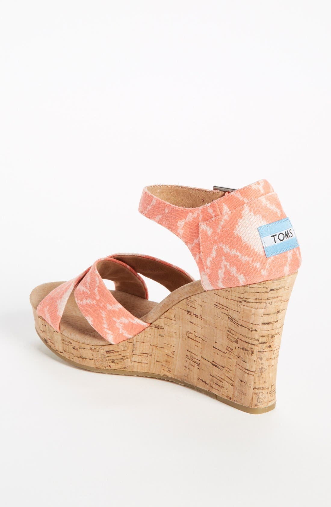 Alternate Image 2  - TOMS 'Geometric Ikat' Wedge
