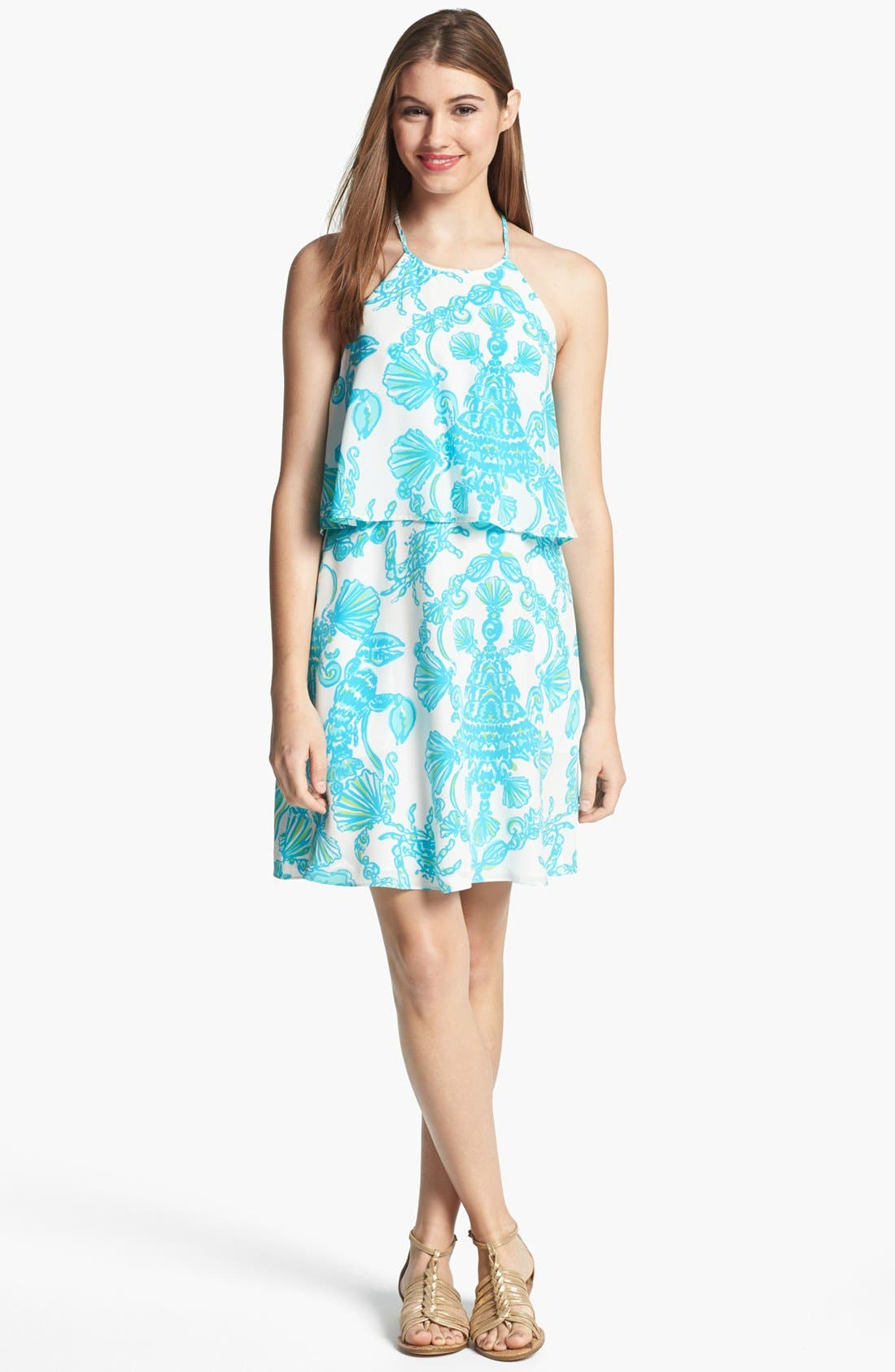Alternate Image 1 Selected - Lilly Pulitzer® 'Whistler' Silk Dress