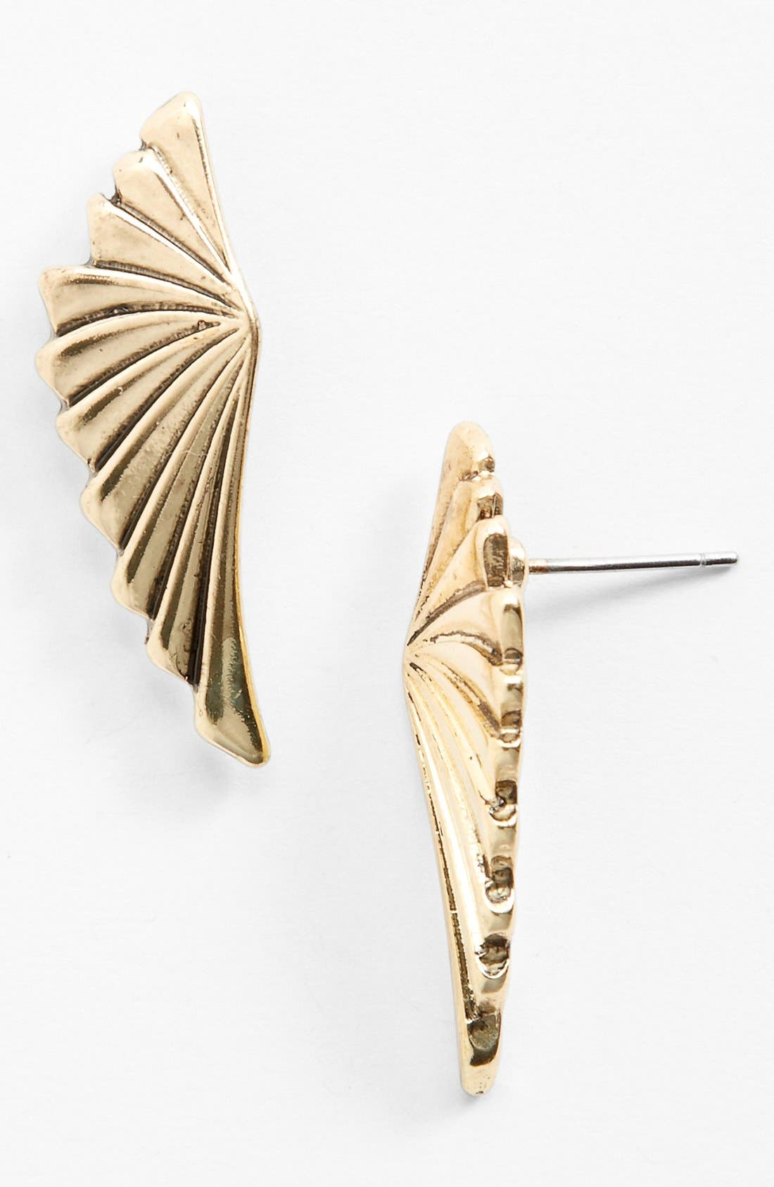 Alternate Image 1 Selected - BCBGeneration 'Wing' Stud Earrings