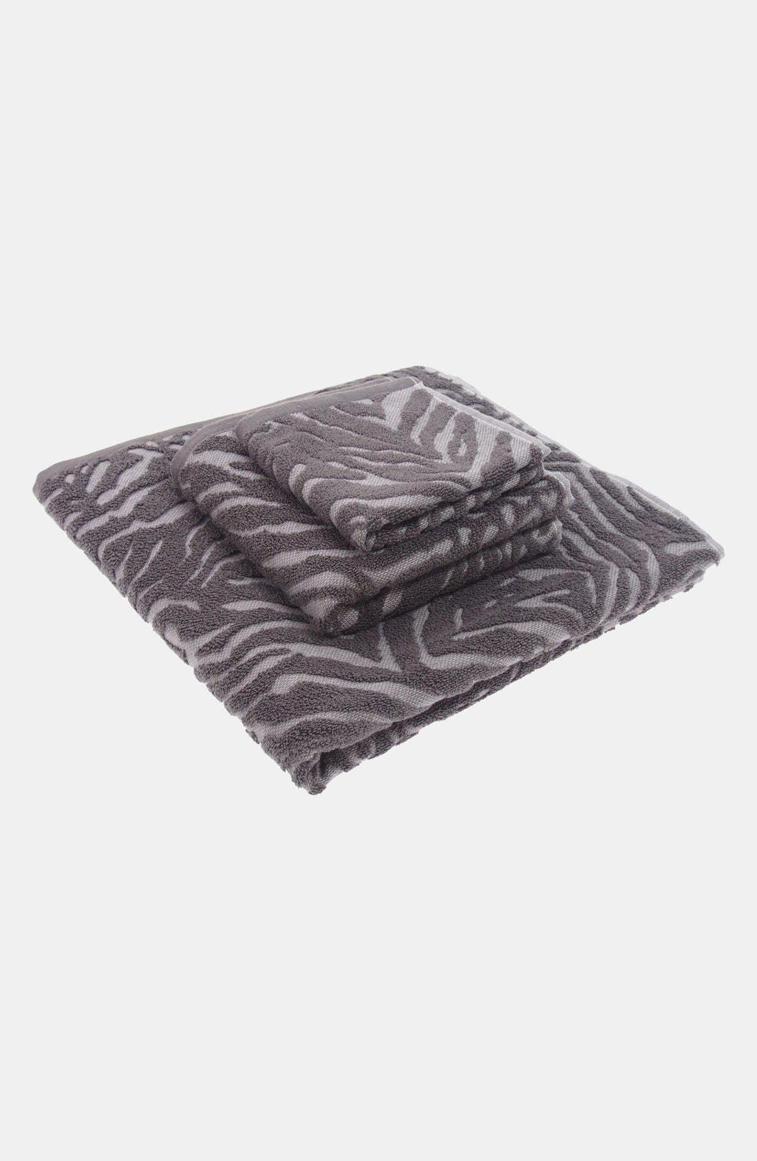 Alternate Image 2  - Nordstrom at Home Animal Jacquard Bath Towel