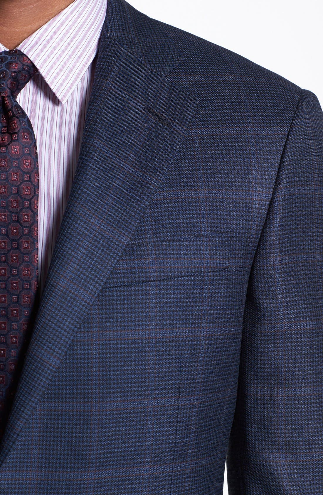 Alternate Image 2  - Hickey Freeman 'B Series' Plaid Wool Sportcoat