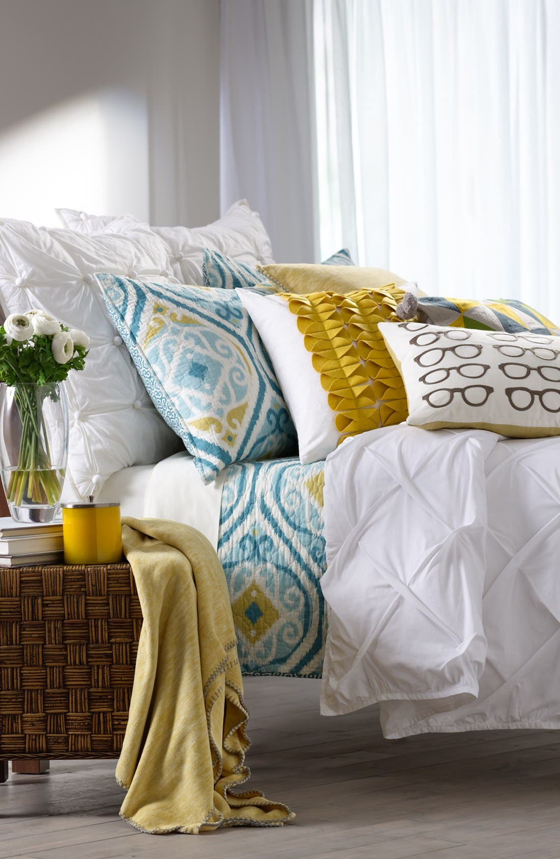 Alternate Image 2  - Nordstrom at Home 'Yves' Pillow