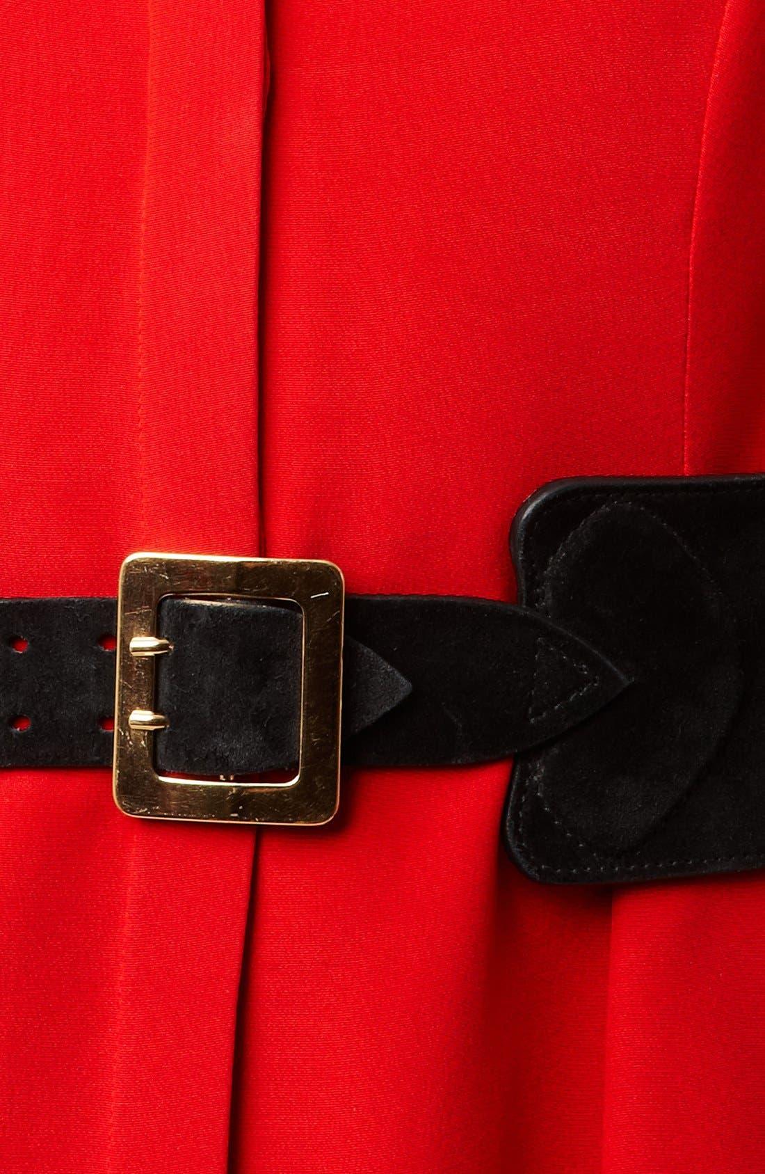 Alternate Image 2  - Alexander McQueen Suede Belt