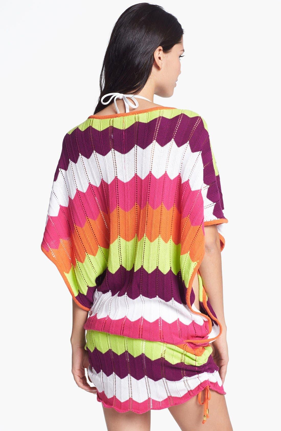 Alternate Image 2  - Trina Turk Zigzag Tunic Cover-Up