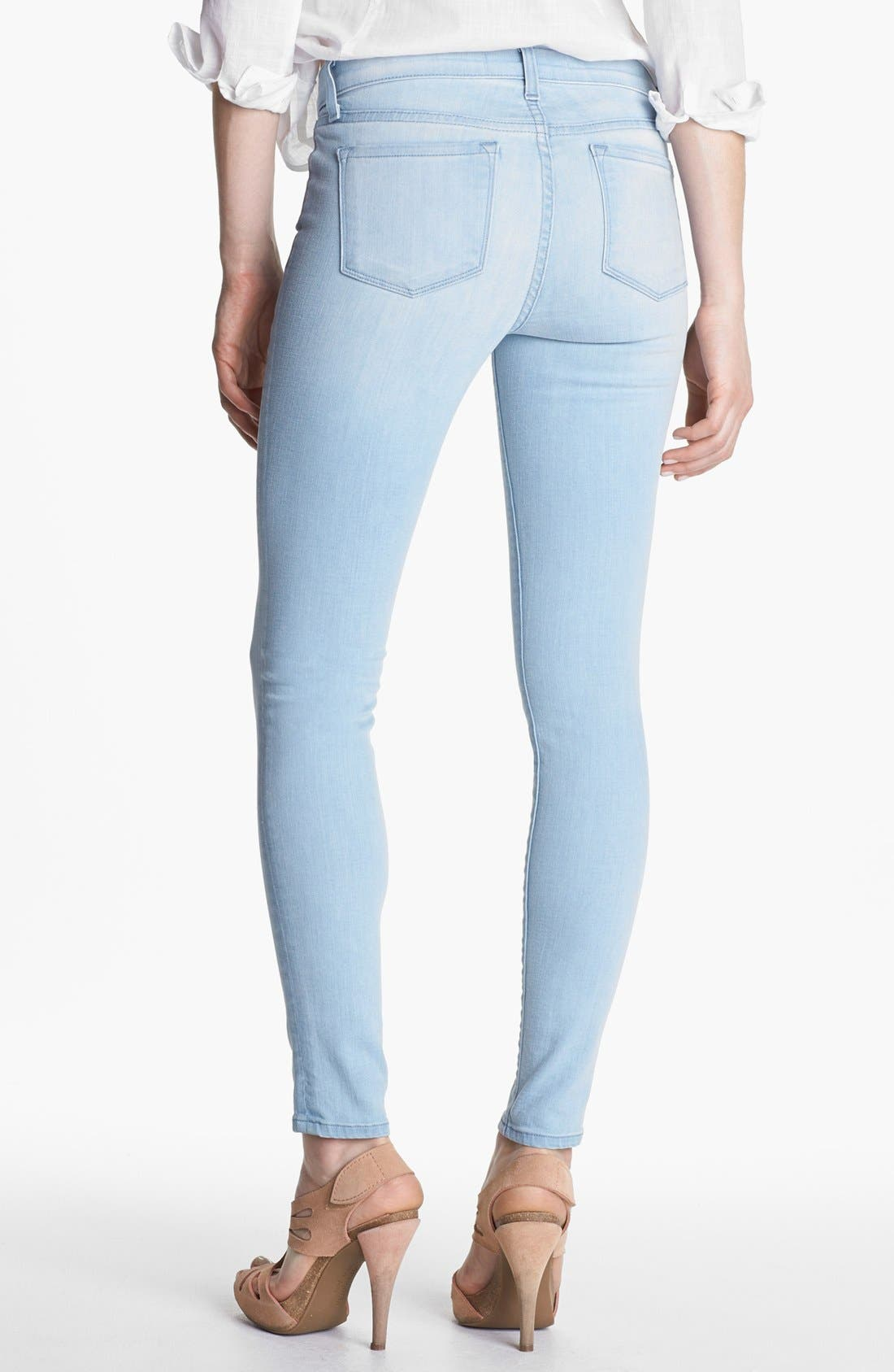 Alternate Image 2  - J Brand '811' Mid-Rise Skinny Jeans (Journey)