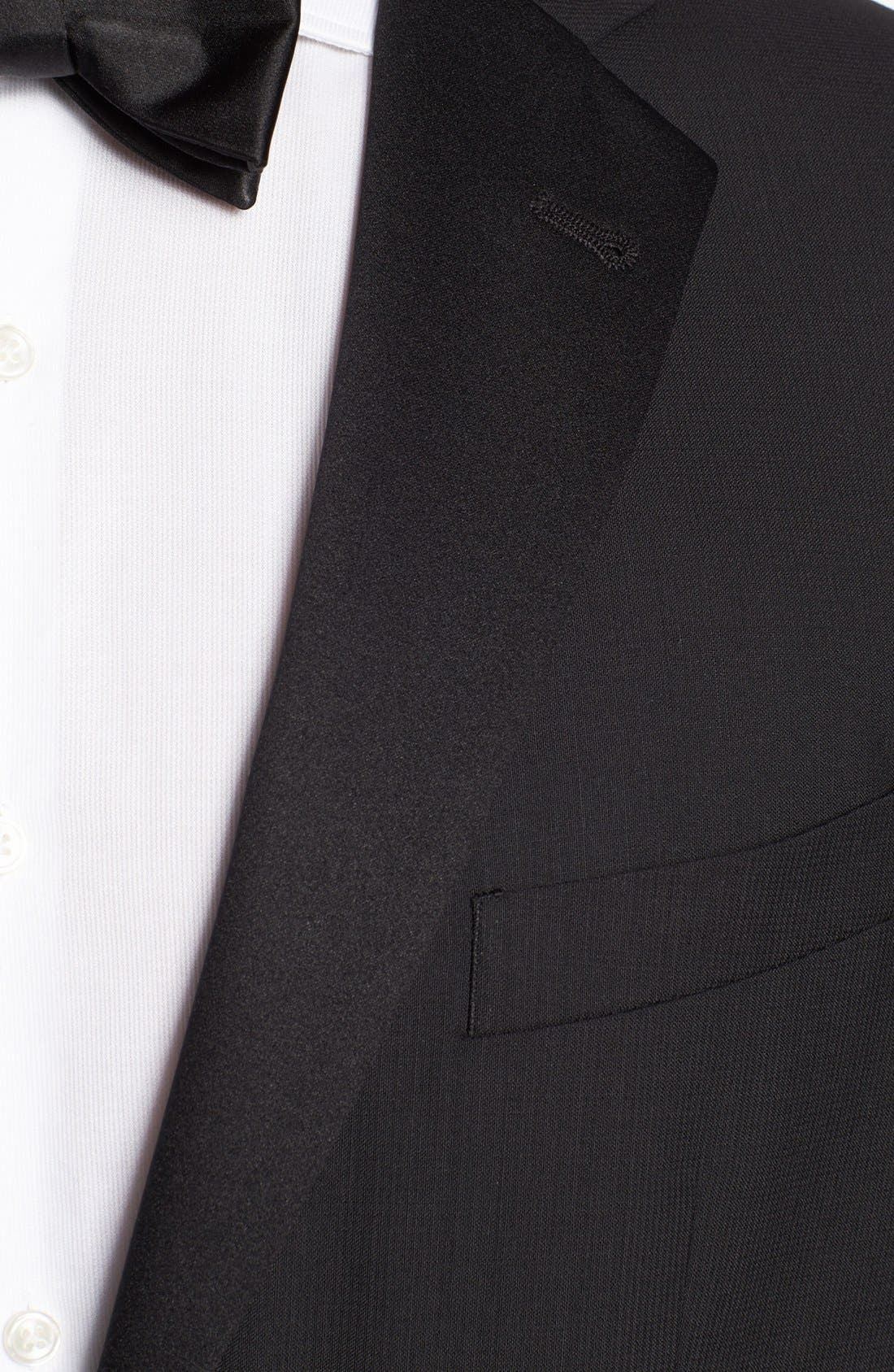 Alternate Image 2  - Joseph Abboud 'Profile Hybrid' Trim Fit Wool Tuxedo (Online Only)