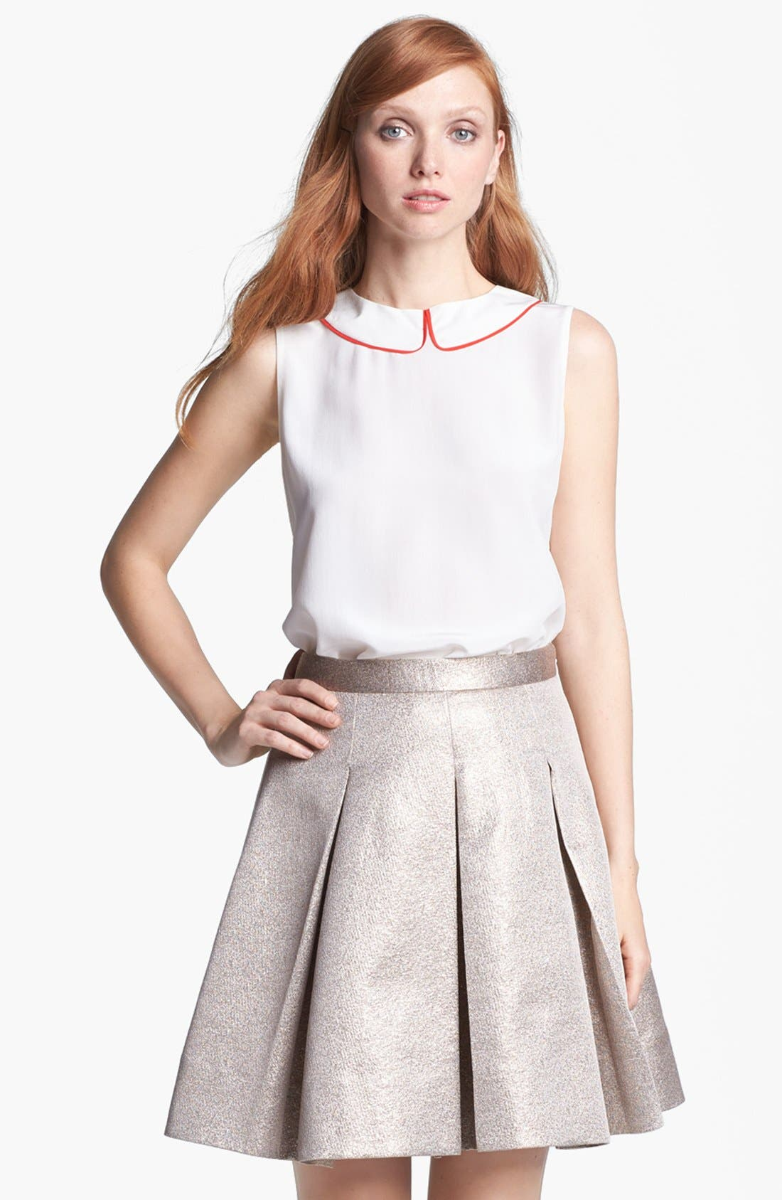 Alternate Image 1 Selected - kate spade new york 'beatrix' silk top