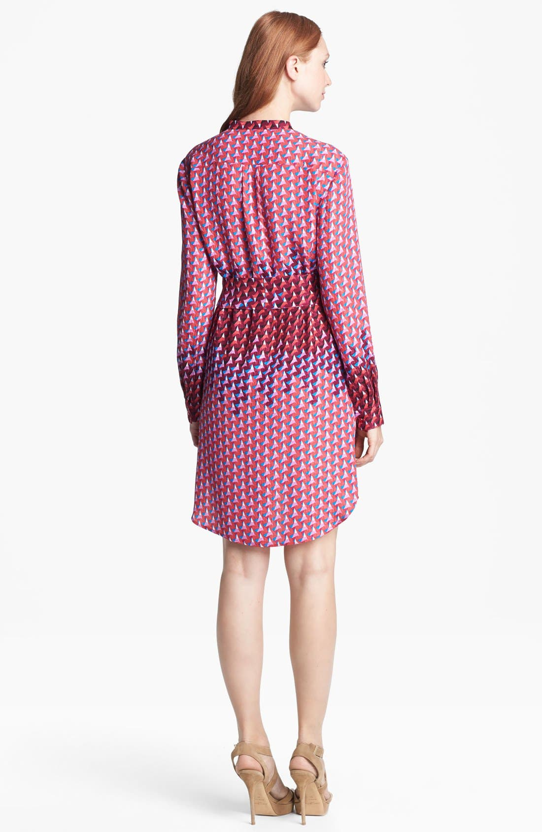 Alternate Image 2  - MARC BY MARC JACOBS 'Paradox' Print Silk Shirtdress