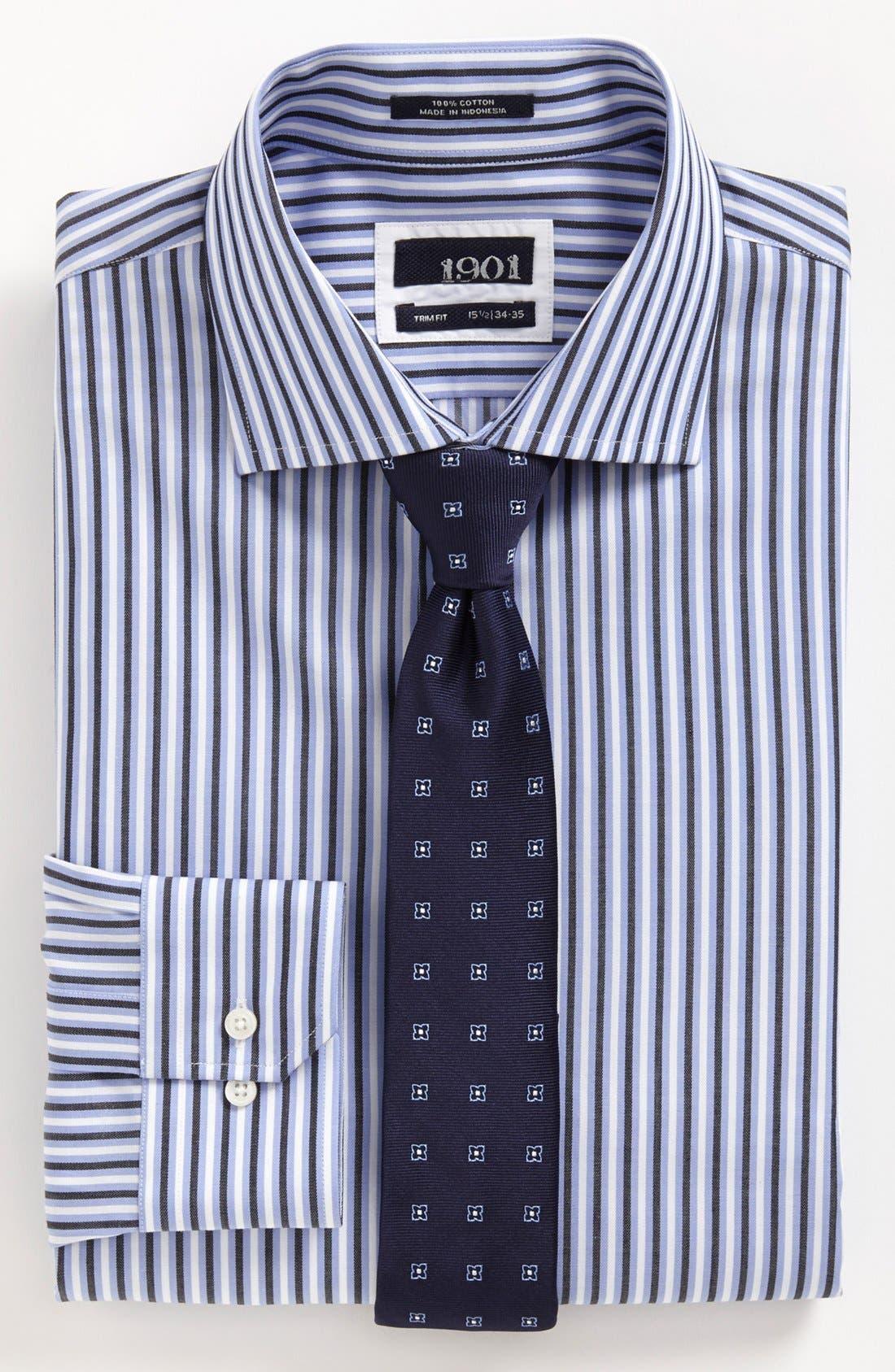 Alternate Image 1 Selected - 1901 Dress Shirt & Tie