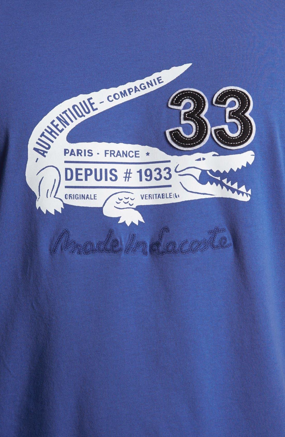 Alternate Image 3  - Lacoste 'Croc' T-Shirt