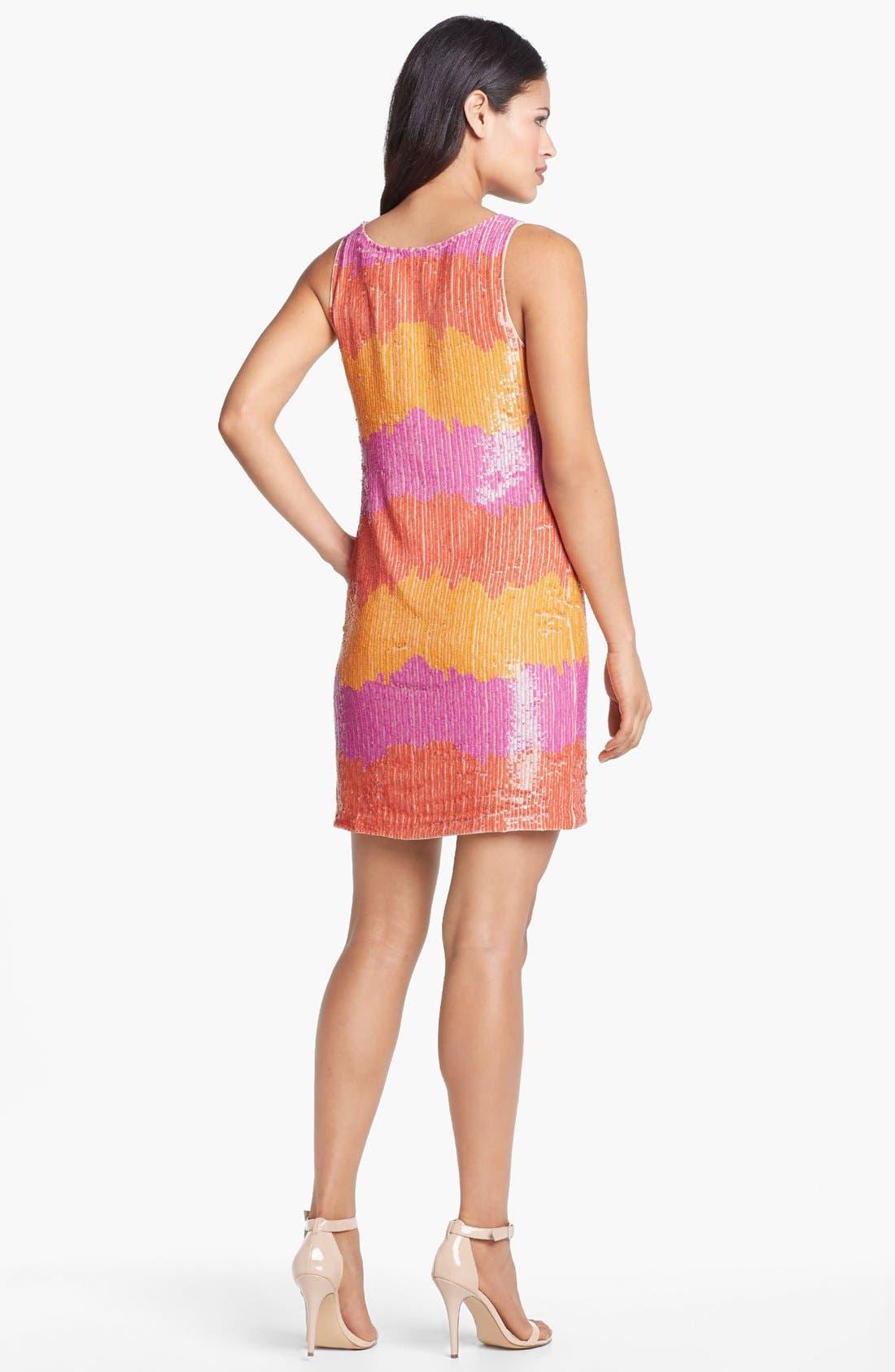 Alternate Image 2  - Trina Turk 'Glitter' Sequin Tank Dress