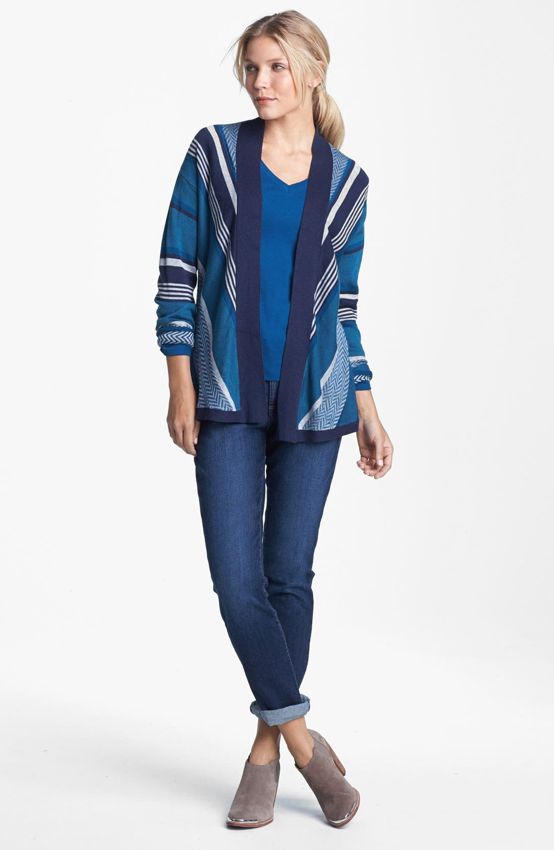 Alternate Image 3  - NYDJ 'Leann' Stretch Skinny Boyfriend Jeans