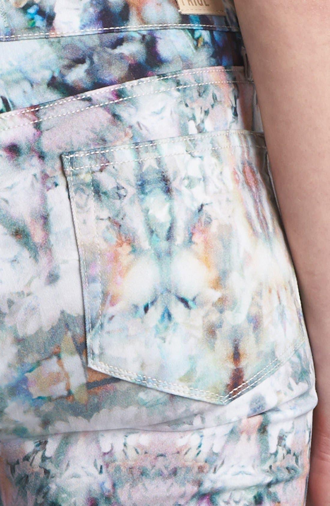 Alternate Image 3  - Paige Denim 'Verdugo' Print Ultra Skinny Jeans (Daydreamer)