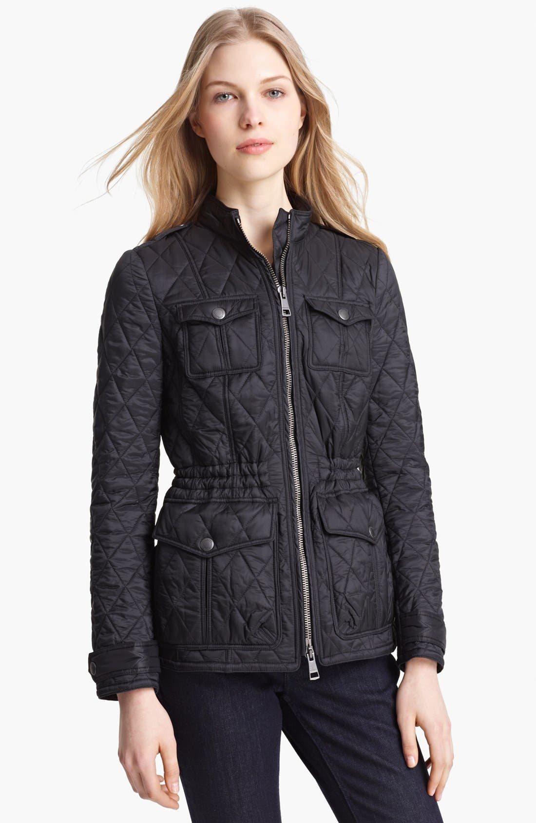 Main Image - Burberry Brit 'Ravenfield' Quilted Jacket