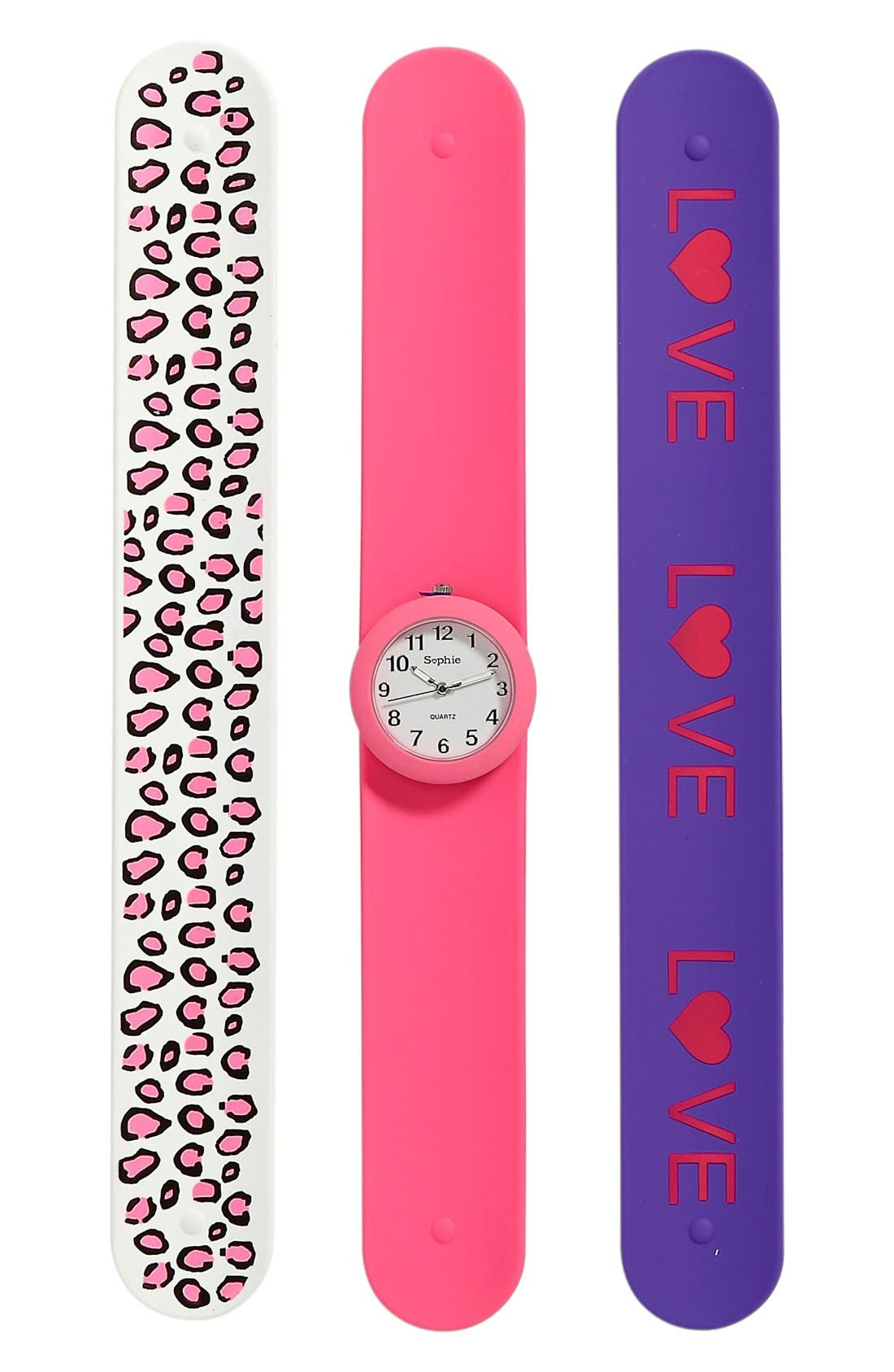 Main Image - Titanium Interchangeable Slap Watch (Girls)