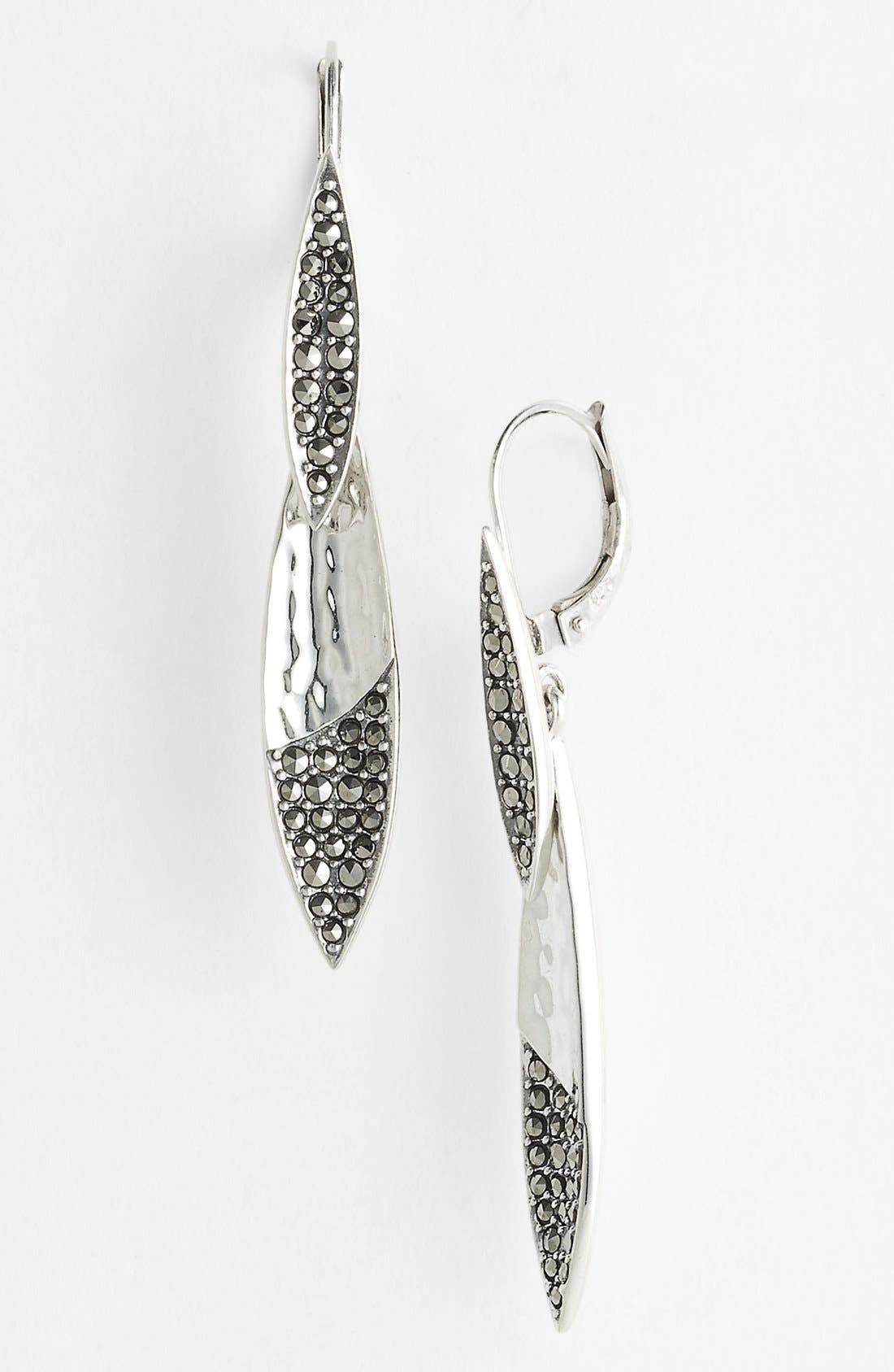 Main Image - Judith Jack 'Silver Rain' Double Drop Earrings (Nordstrom Exclusive)