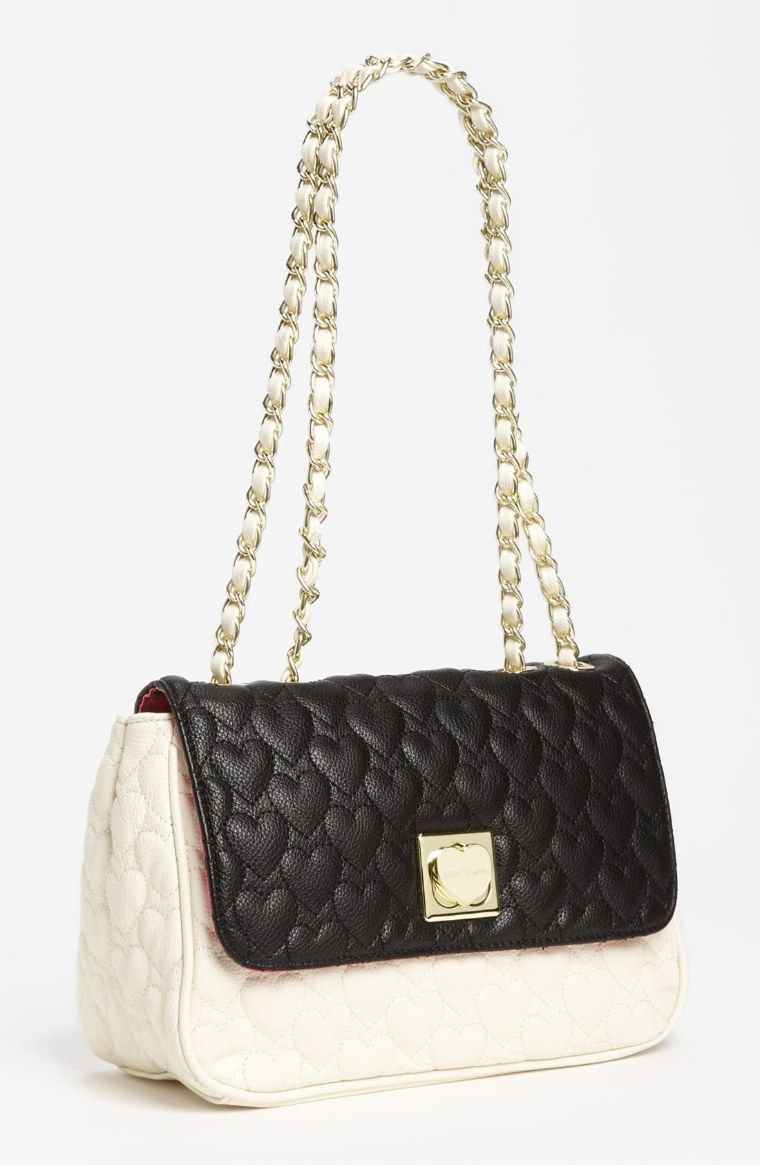 Alternate Image 1 Selected - Betsey Johnson 'Be My One & Only' Shoulder Bag