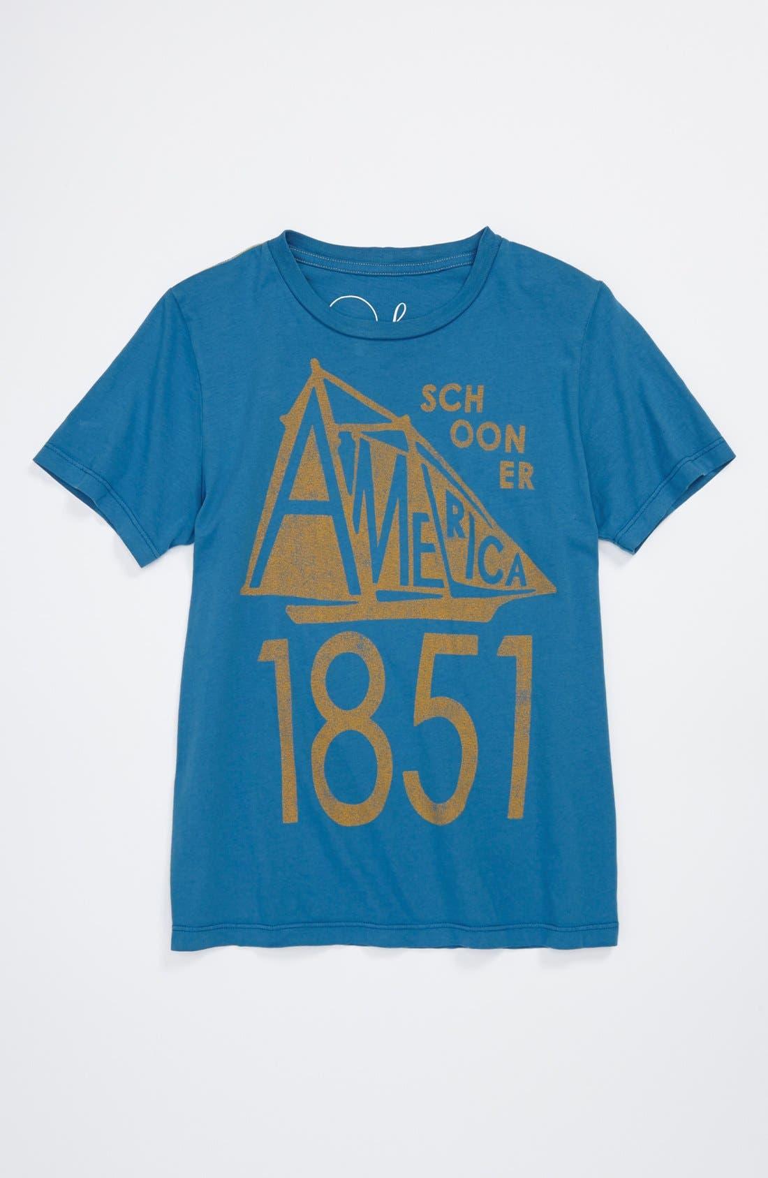 Main Image - Peek 'America' T-Shirt (Toddler Boys, Little Boys & Big Boys)
