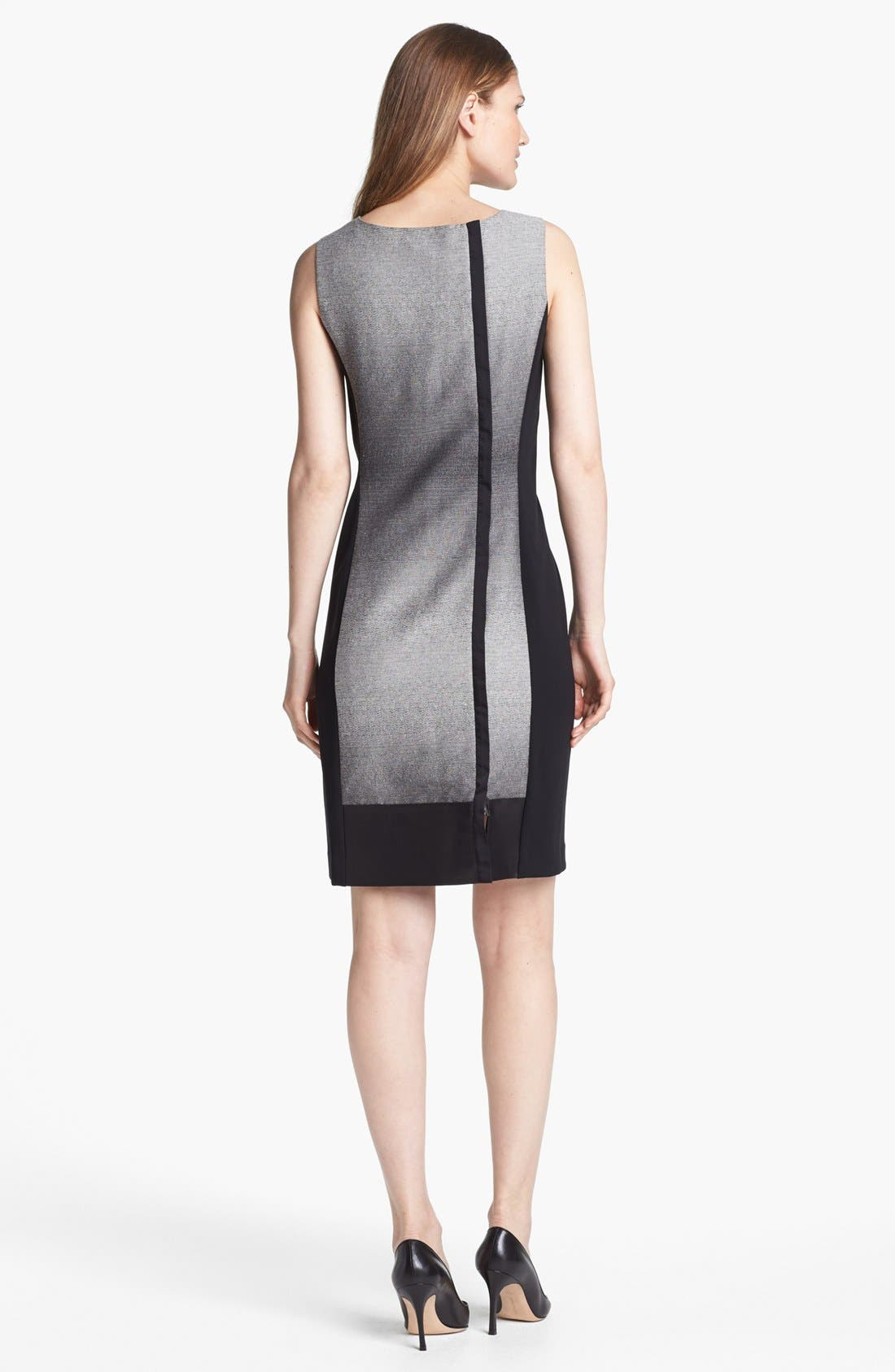 Alternate Image 2  - Lafayette 148 New York 'Penny - Saturnine Cloth' Dress