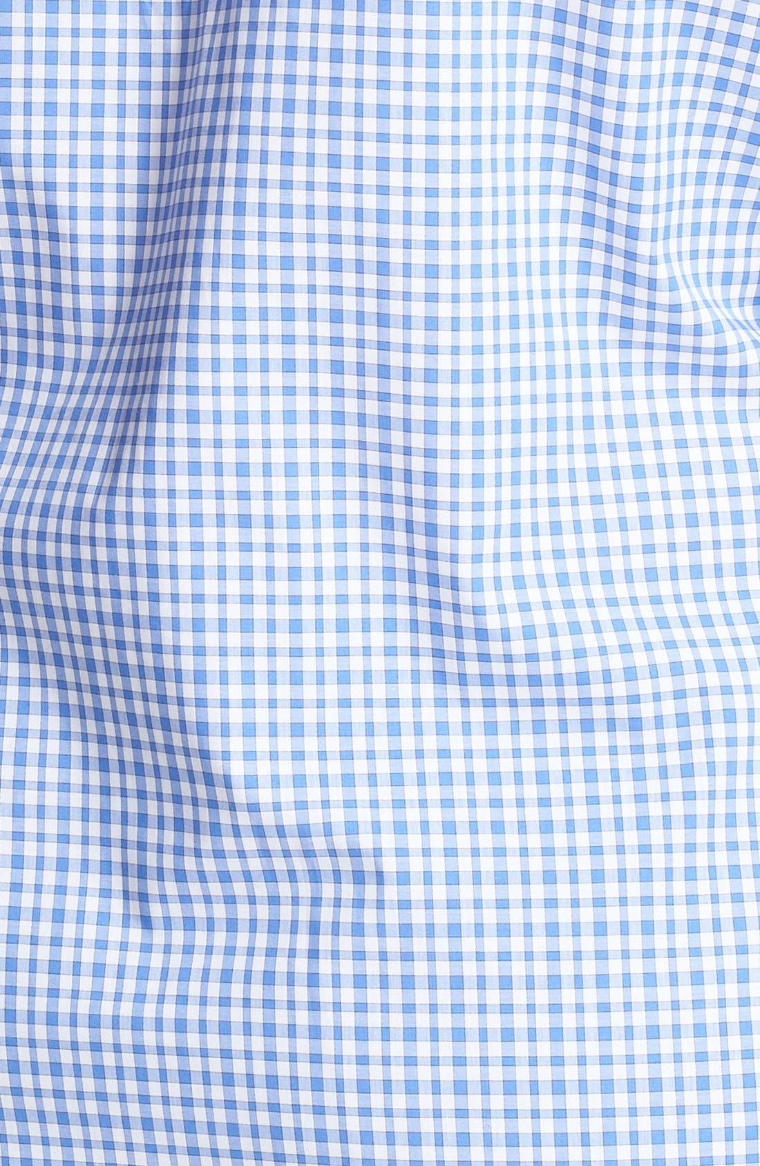 Alternate Image 3  - Foxcroft Gingham Check Shirt (Plus Size)