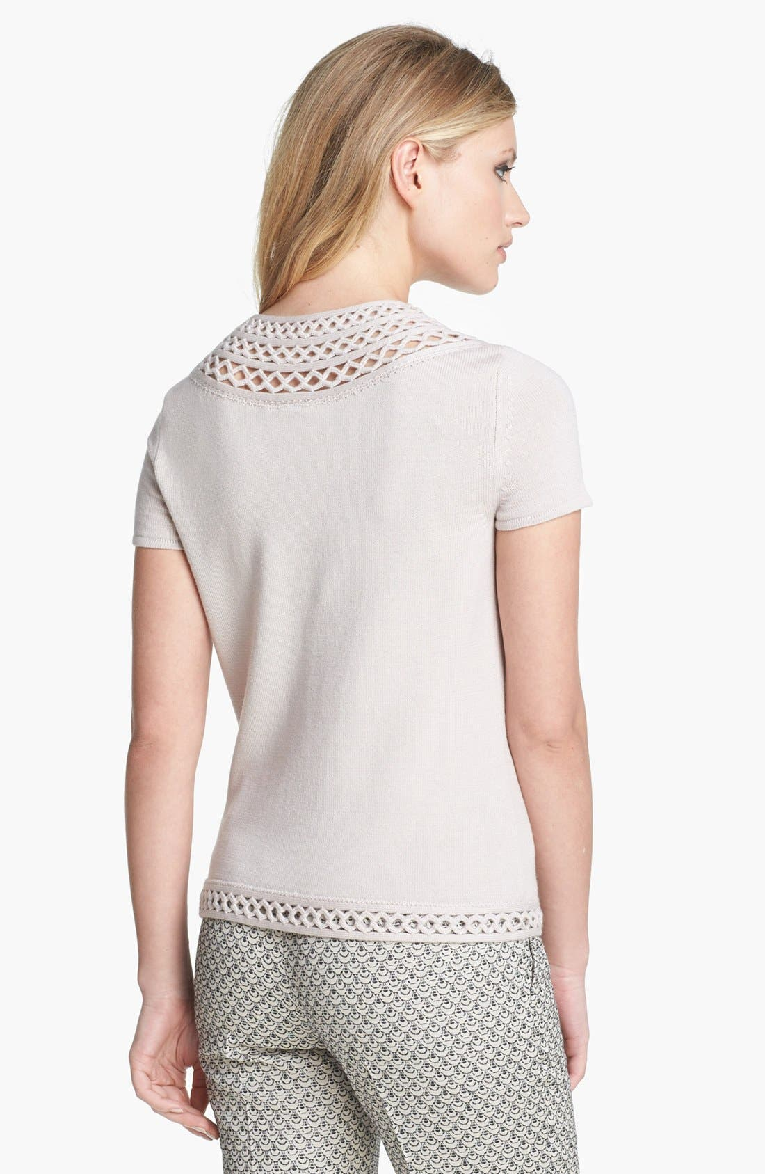 Alternate Image 2  - Tory Burch 'Scarlett' Merino Wool Sweater