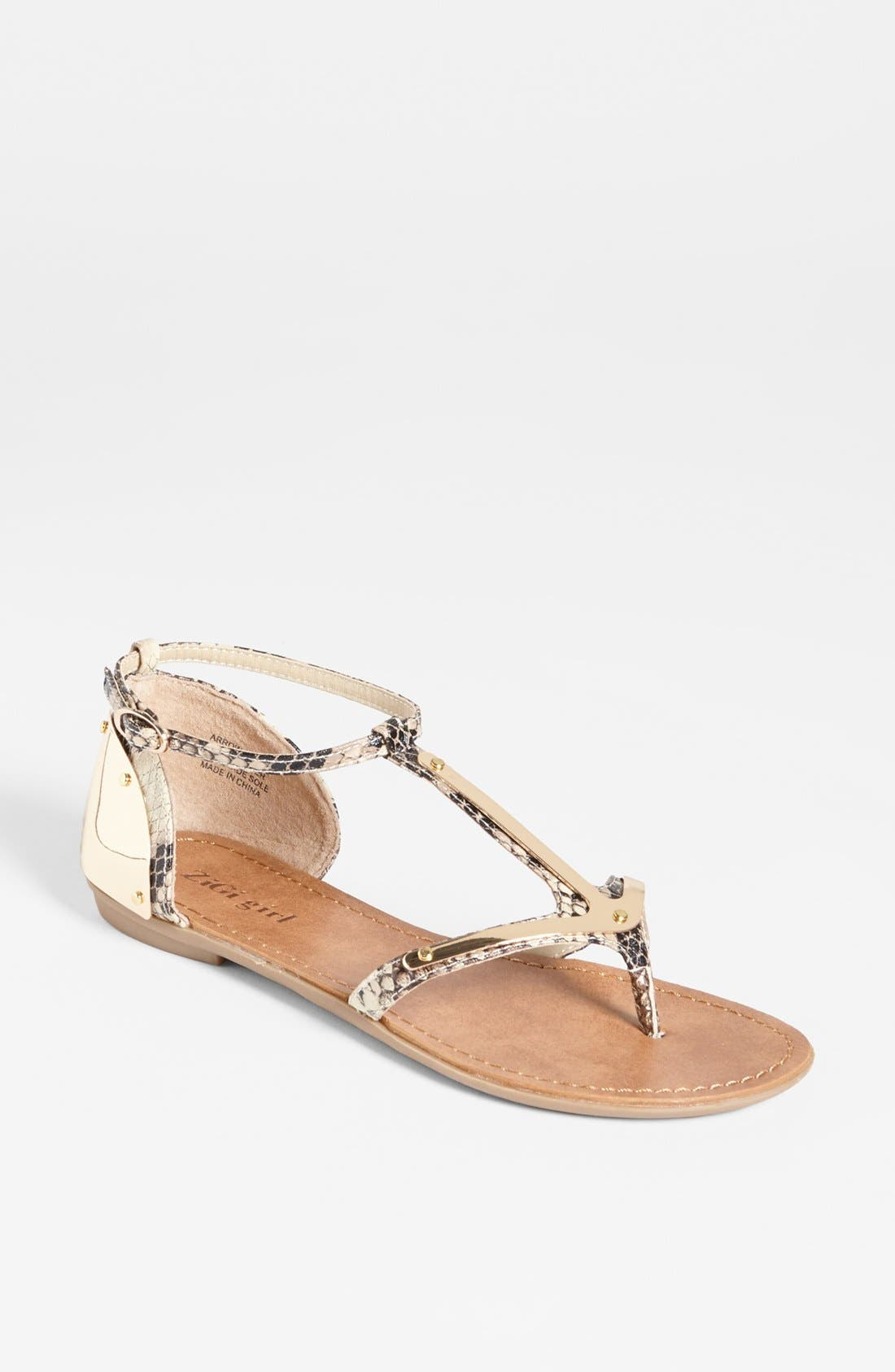 Alternate Image 1 Selected - ZiGi girl 'Arrow' Sandal