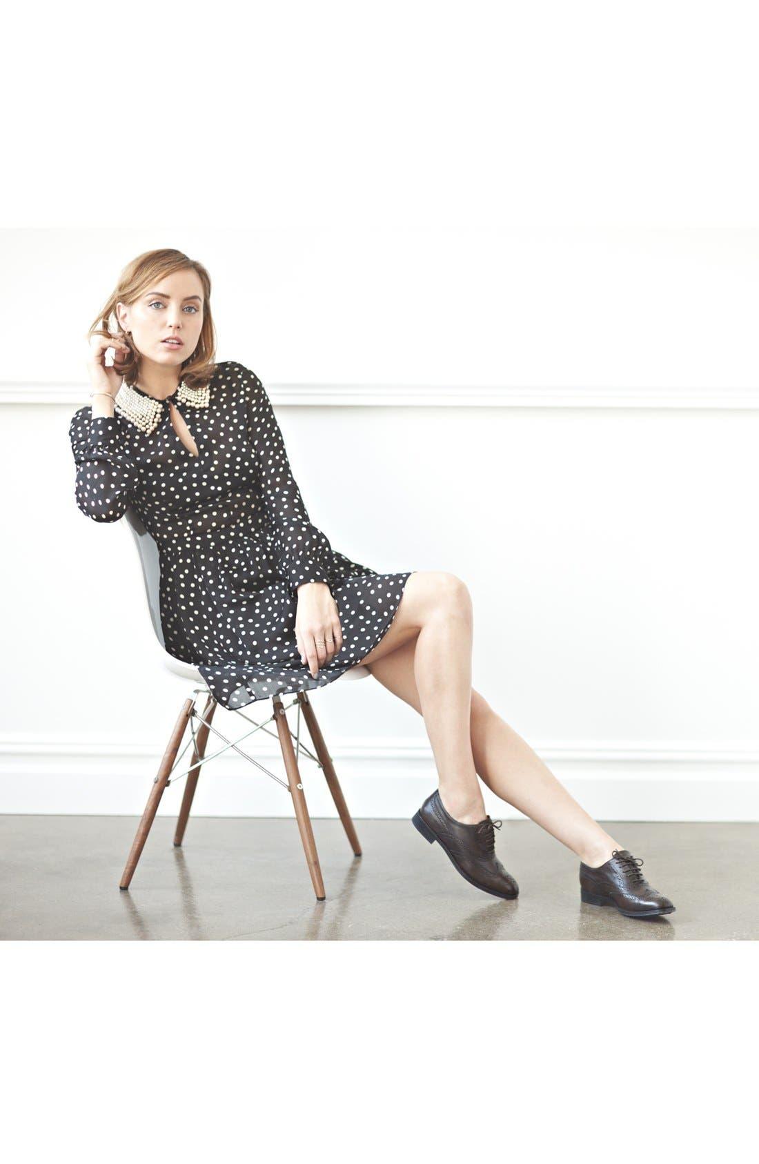 Alternate Image 3  - Moschino Cheap & Chic Silk Charmeuse Dress