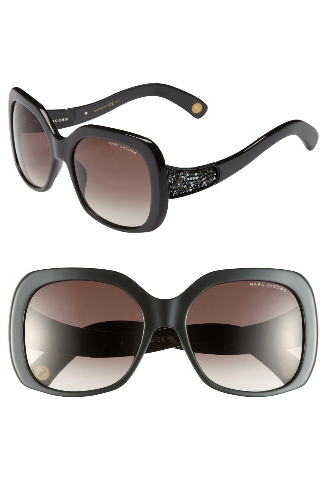 Main Image - MARC JACOBS 57mm Sunglasses