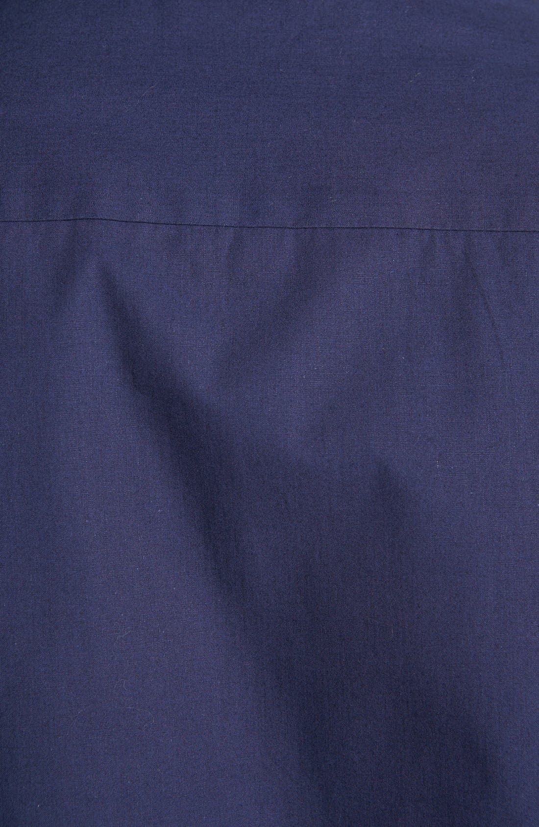 Alternate Image 3  - Topman Short Sleeve Cotton Shirt