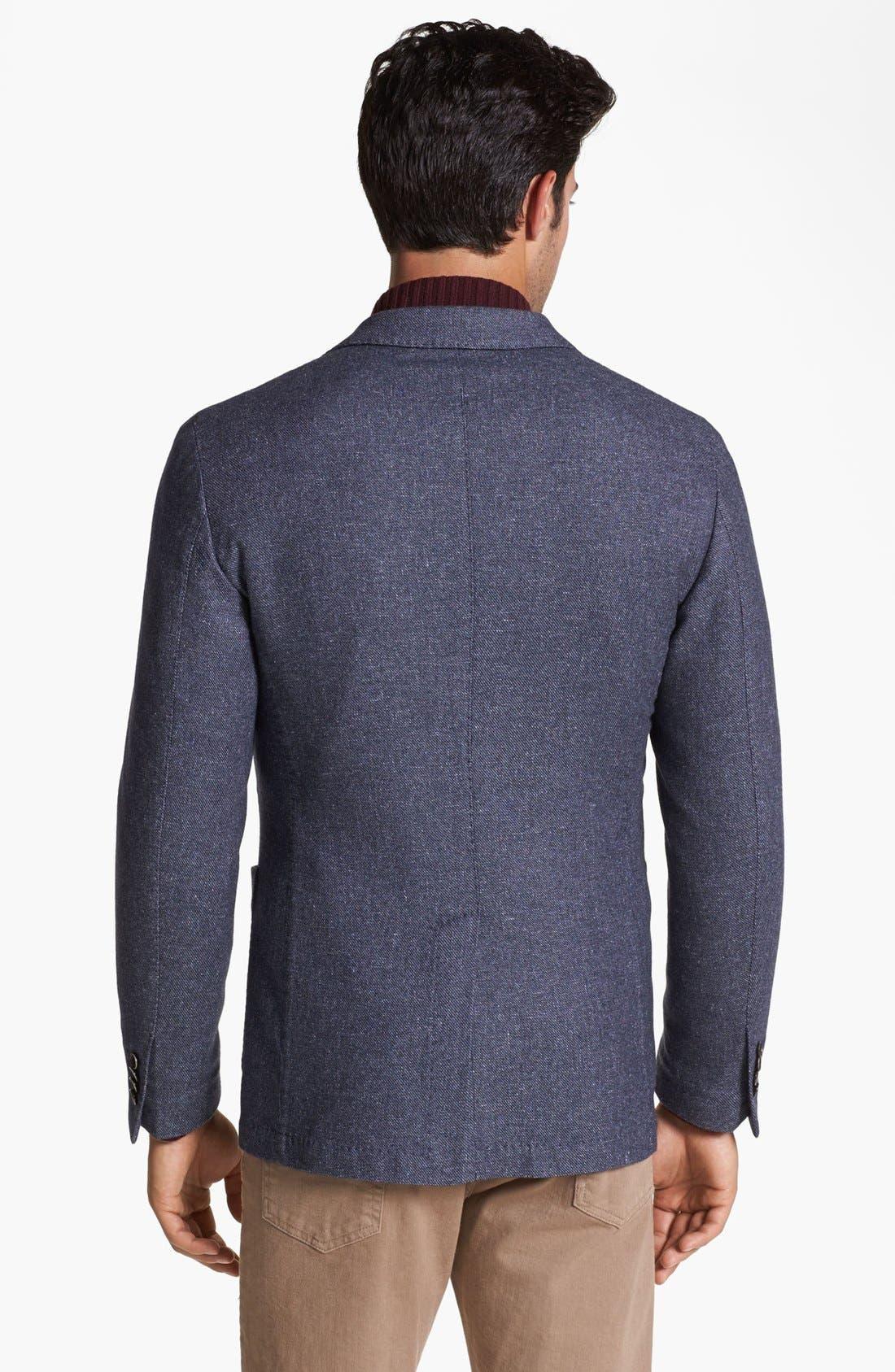 Alternate Image 2  - Canali Washed Italian Sportcoat