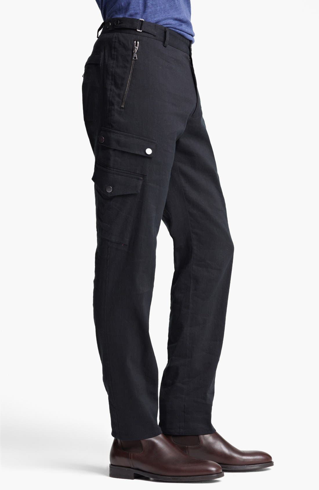 Alternate Image 3  - John Varvatos Collection Slim Fit Cargo Pants