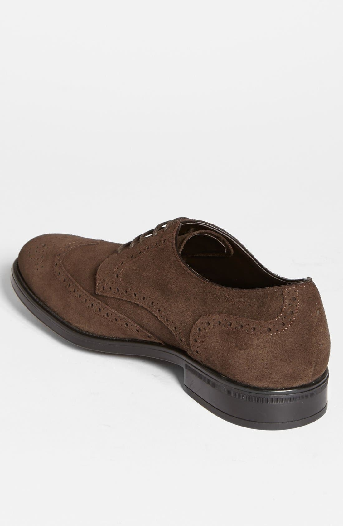 Alternate Image 2  - Tod's 'Derby' Suede Wingtip