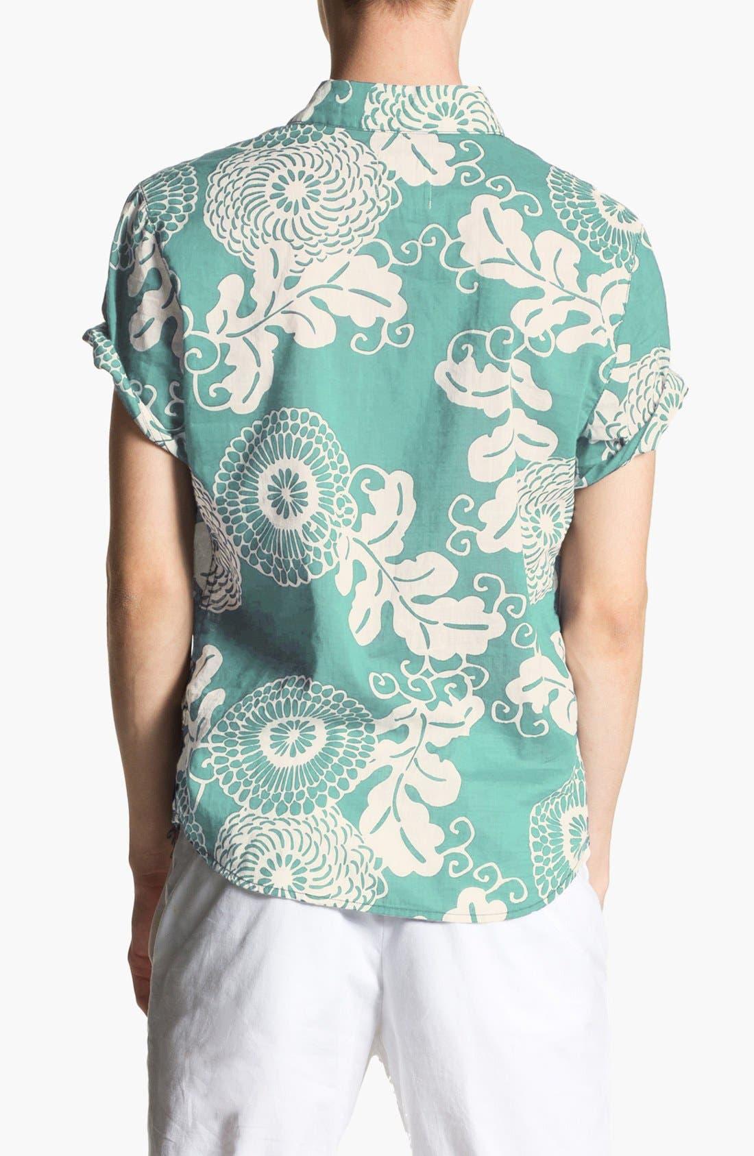 Alternate Image 2  - life/after/denim Print Cotton Shirt