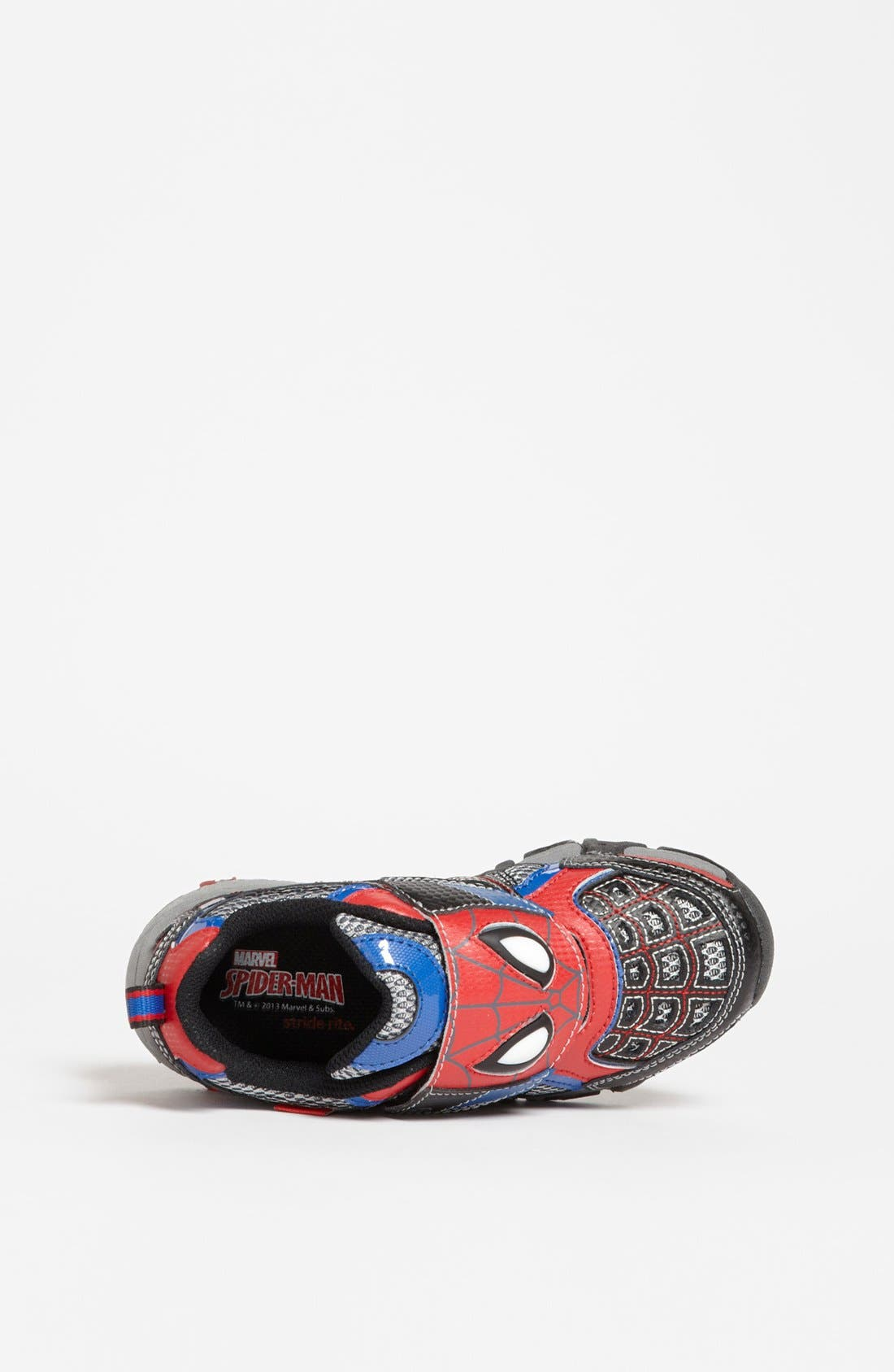 Alternate Image 3  - Stride Rite 'Spidey Lights' Sneaker (Walker, Toddler & Little Kid)