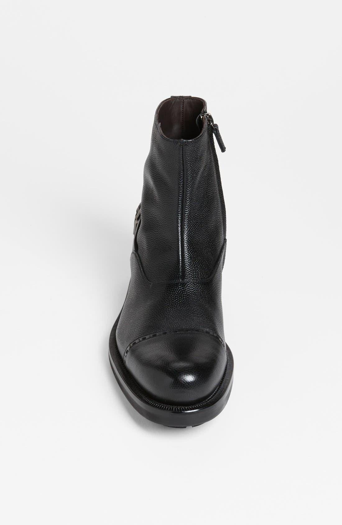 Alternate Image 3  - Salvatore Ferragamo 'Sestri' Cap Toe Boot