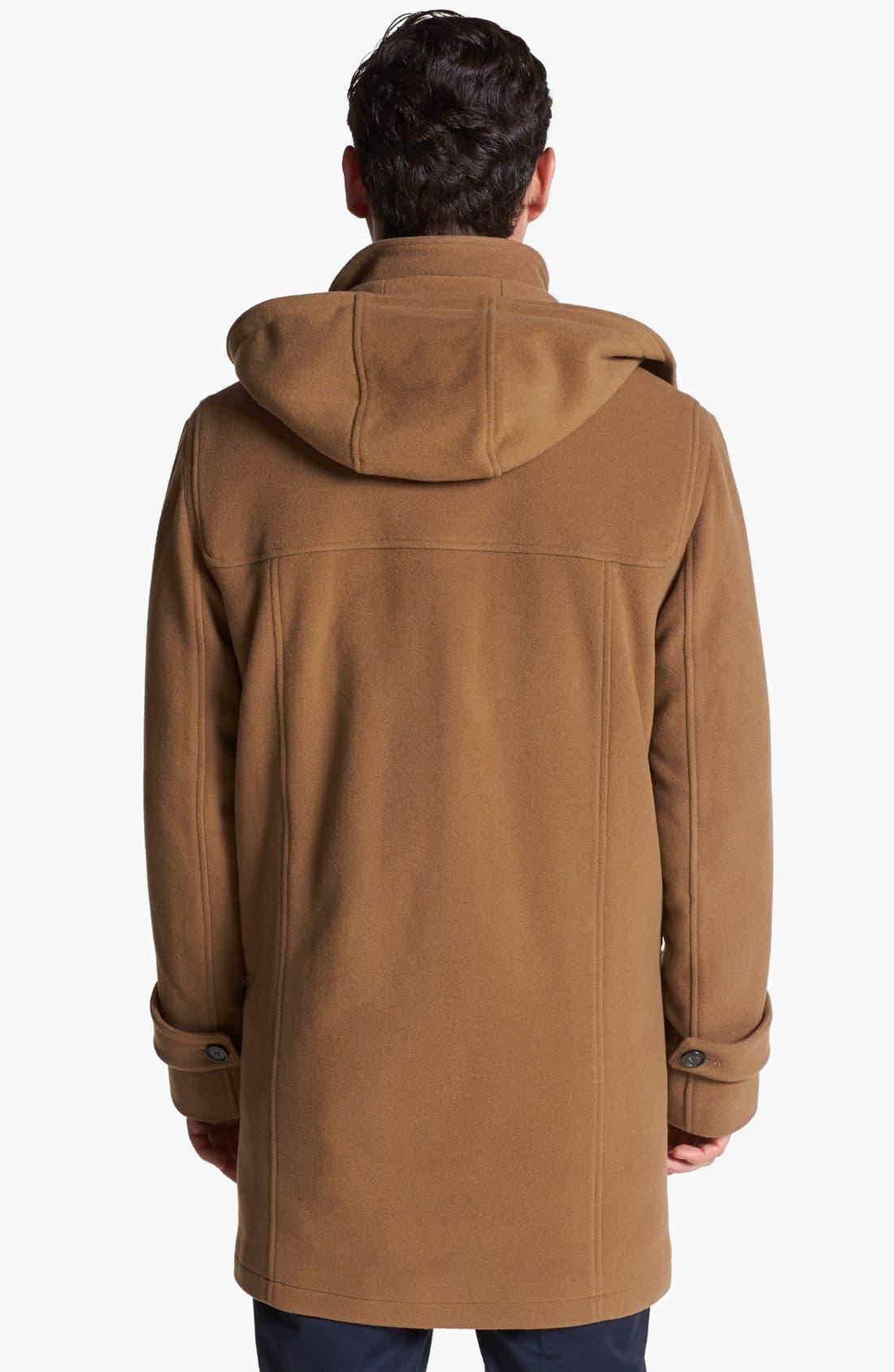 Alternate Image 4  - Cole Haan Wool Blend Duffle Coat