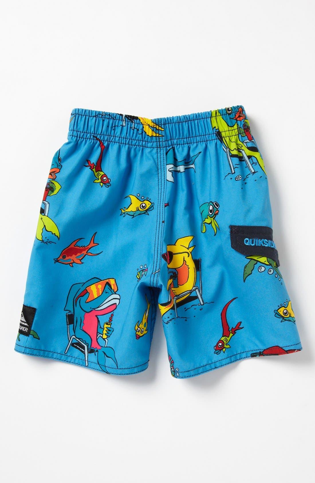 Alternate Image 2  - Quiksilver 'Fish Tacoz' Board Shorts (Baby Boys)