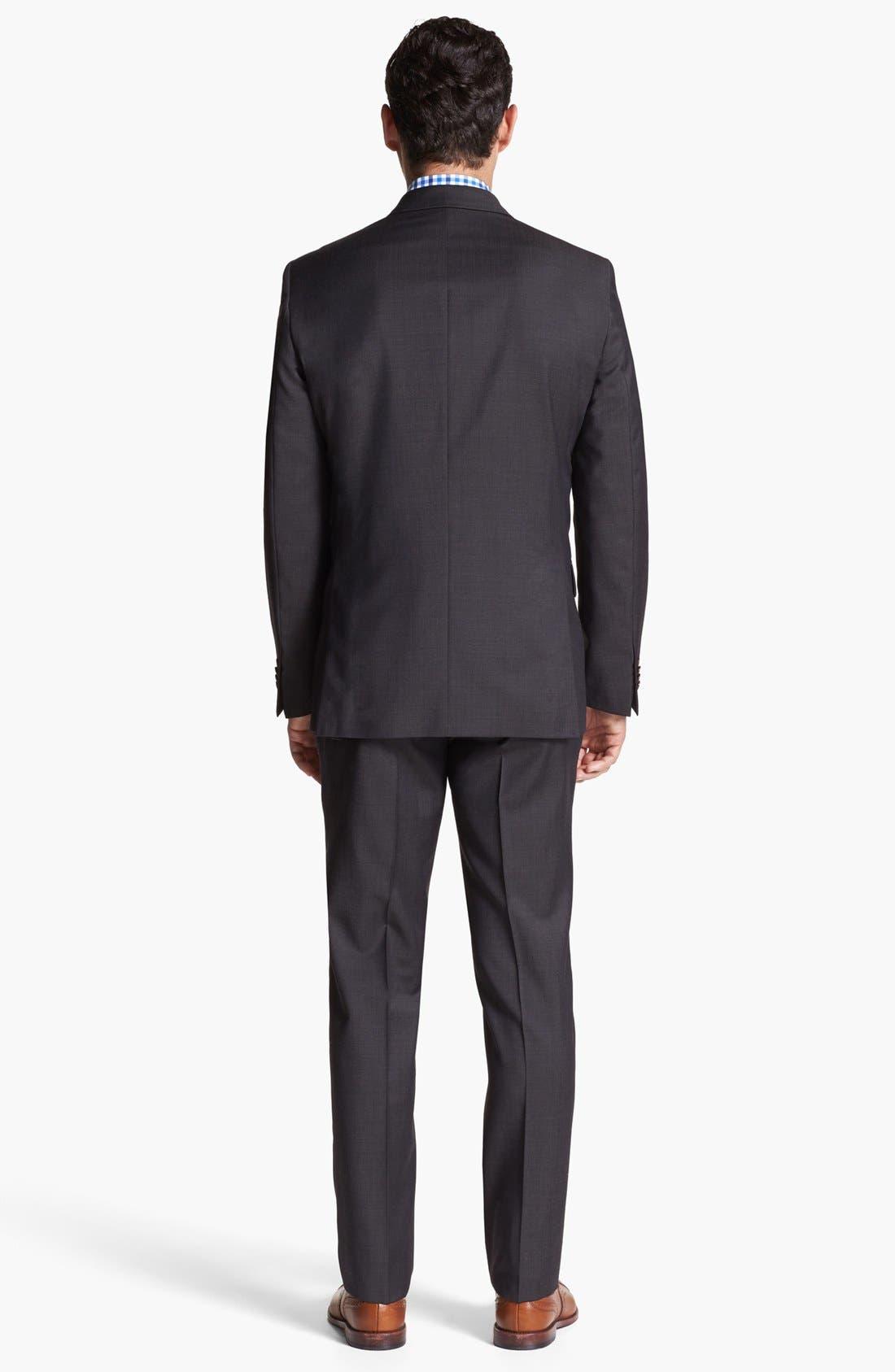 Alternate Image 4  - BOSS HUGO BOSS 'Miles' Sharp Fit Dress Shirt
