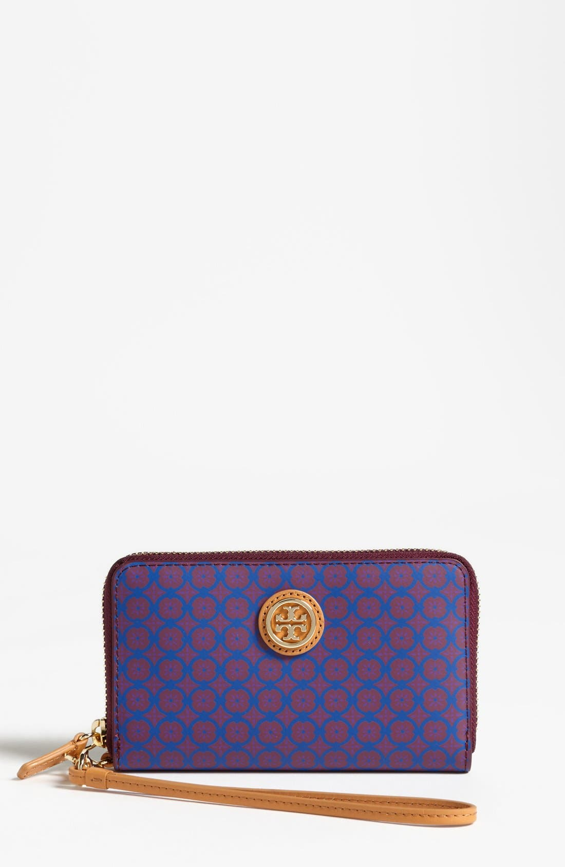 Alternate Image 1 Selected - Tory Burch 'Halland' Smart Phone Wristlet