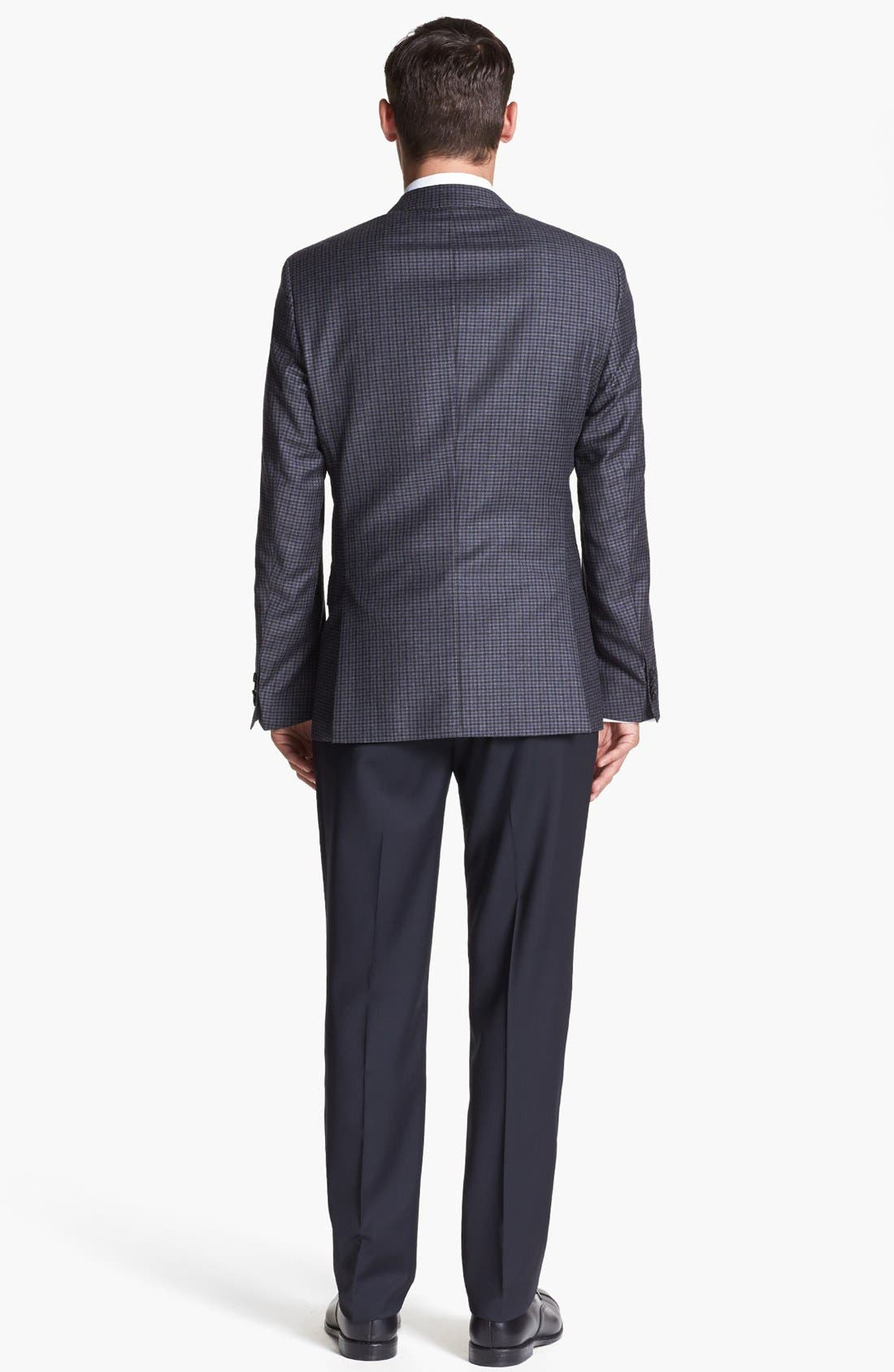 Alternate Image 3  - BOSS HUGO BOSS 'Hutch' Trim Fit Check Sportcoat