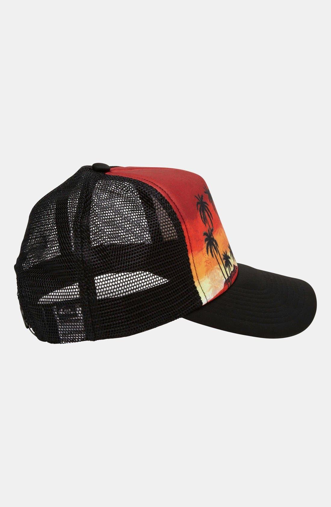 Alternate Image 3  - Quiksilver 'Boards B' Trucker Hat (Boys)