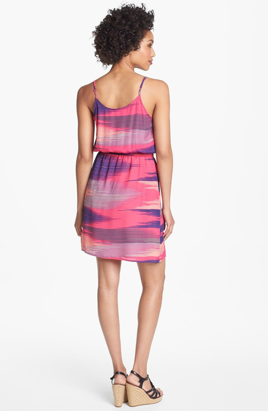 Alternate Image 2  - Collective Concepts Print Blouson Dress