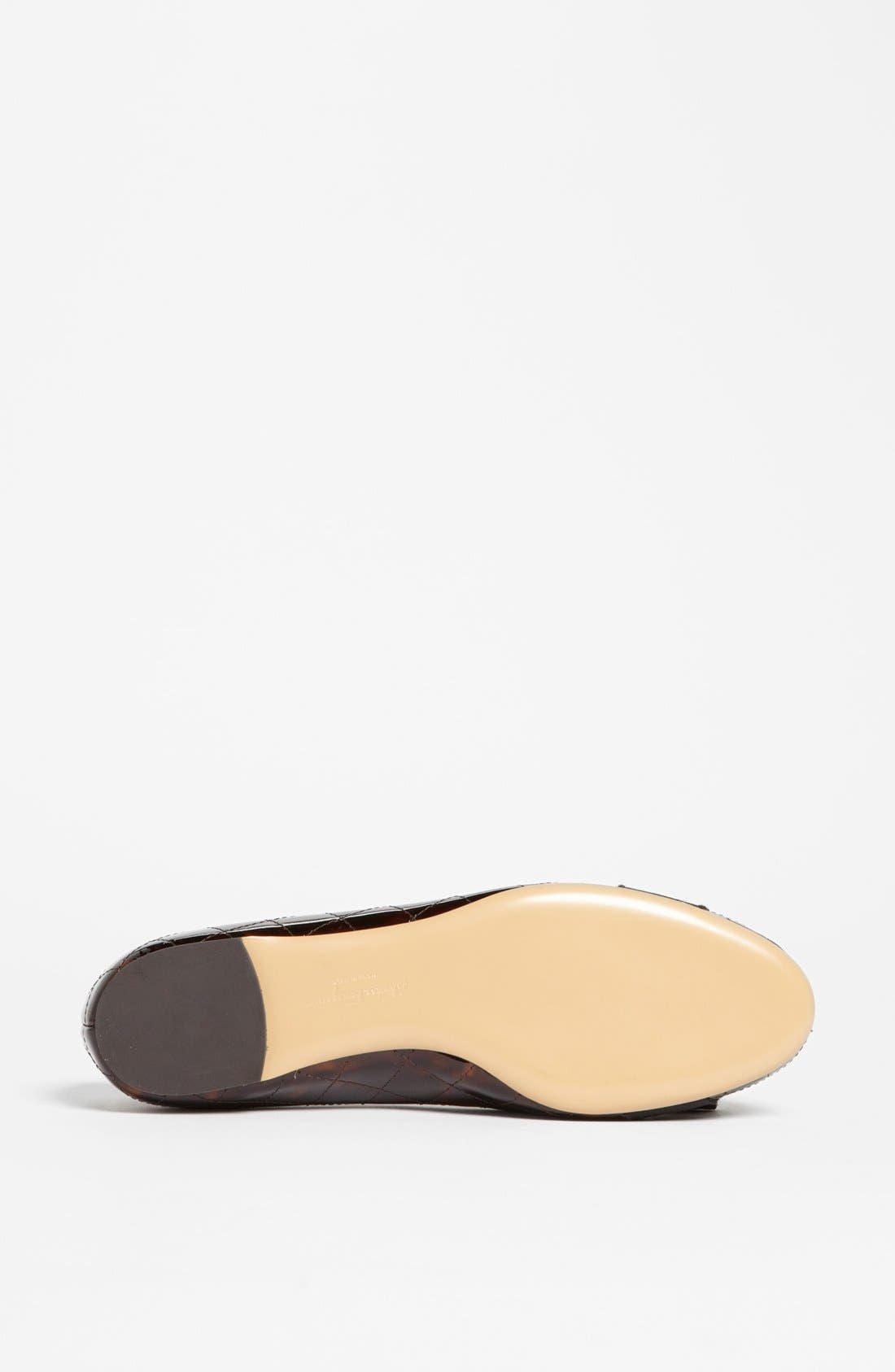 Alternate Image 4  - Salvatore Ferragamo 'Varina' Quilted Flat