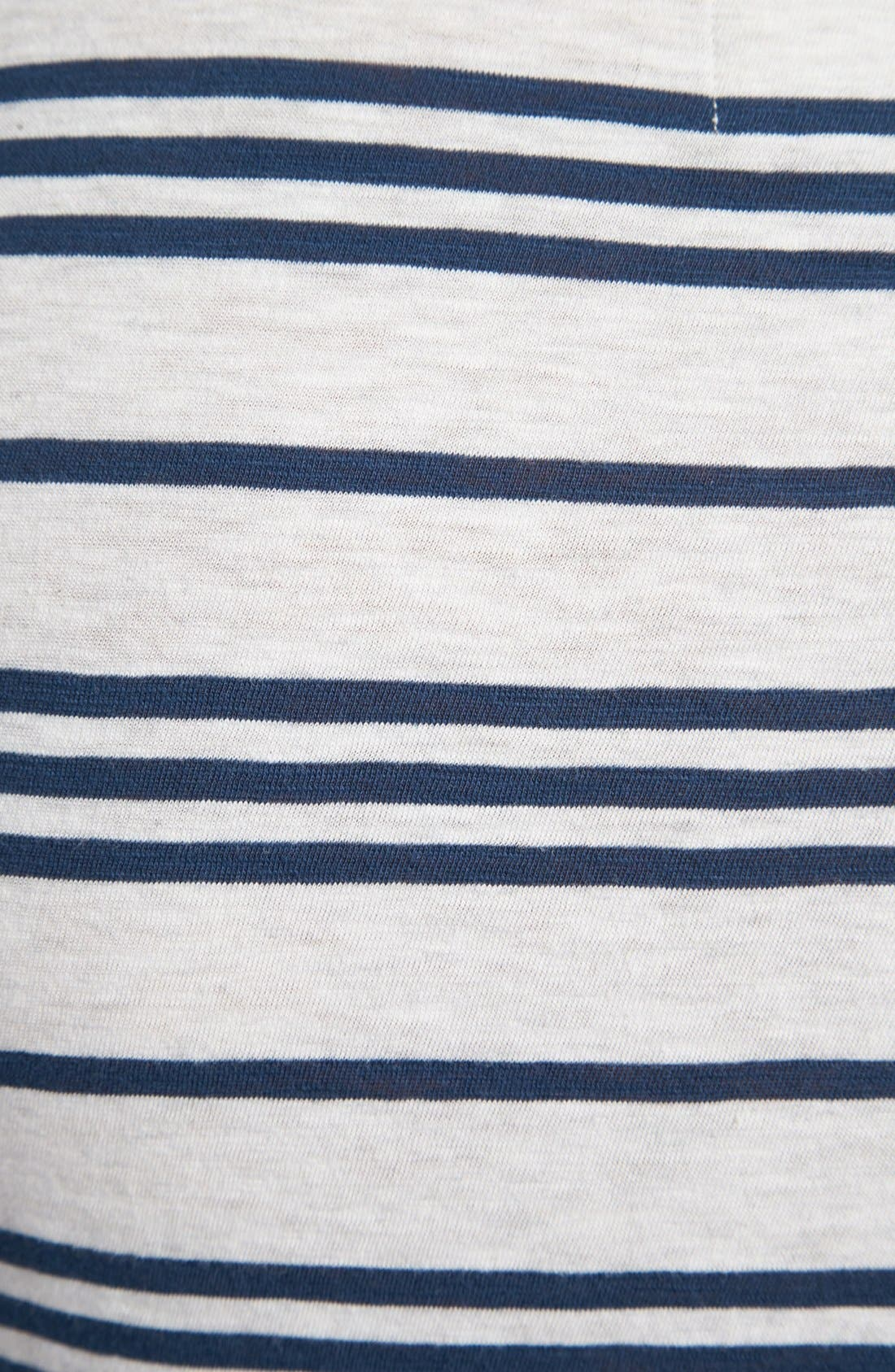 Alternate Image 3  - life/after/denim 'Canal' Stripe T-Shirt