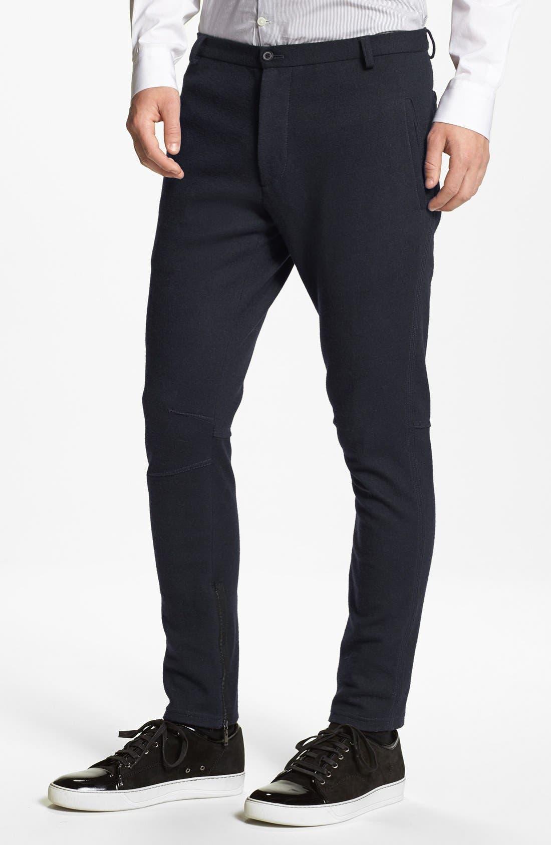 Main Image - Lanvin Slim Fit Stretch Pants