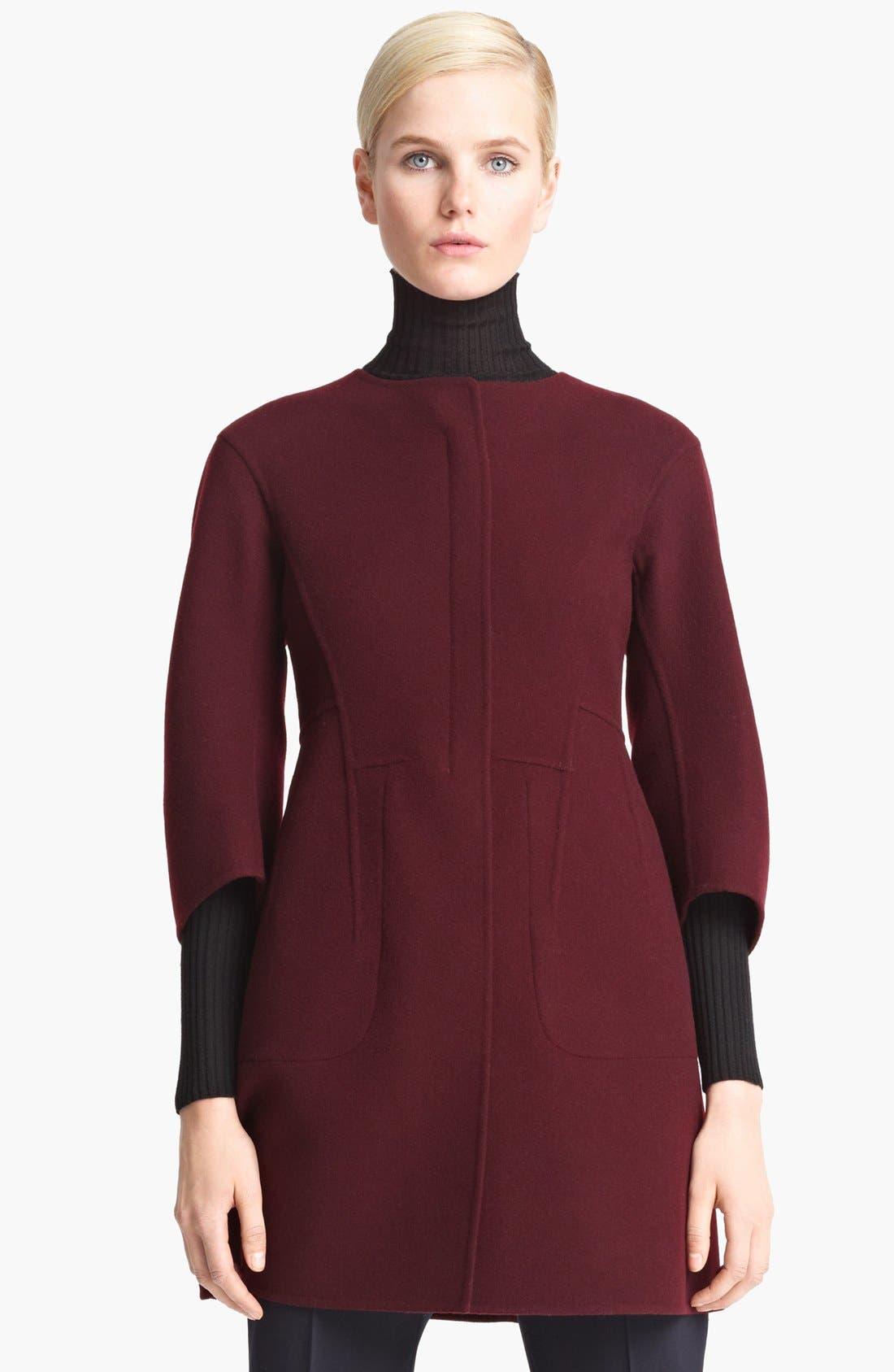 Alternate Image 1 Selected - Jil Sander Wool Coat