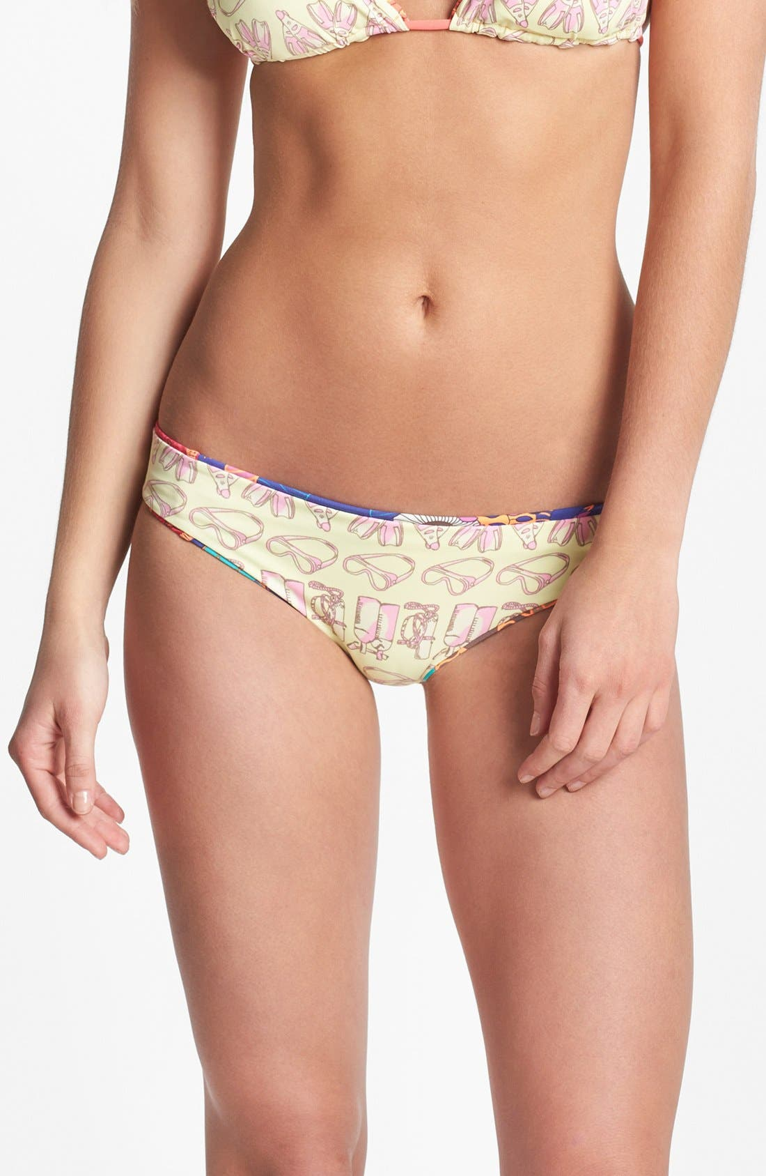 Alternate Image 2  - Maaji 'Woodland Garden' Reversible Bikini Bottoms
