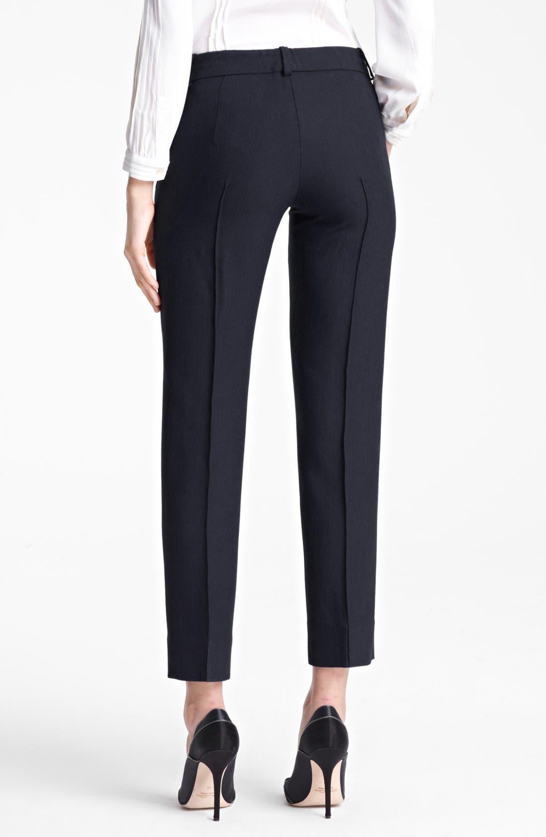 Alternate Image 2  - Oscar de la Renta Slim Crop Pants