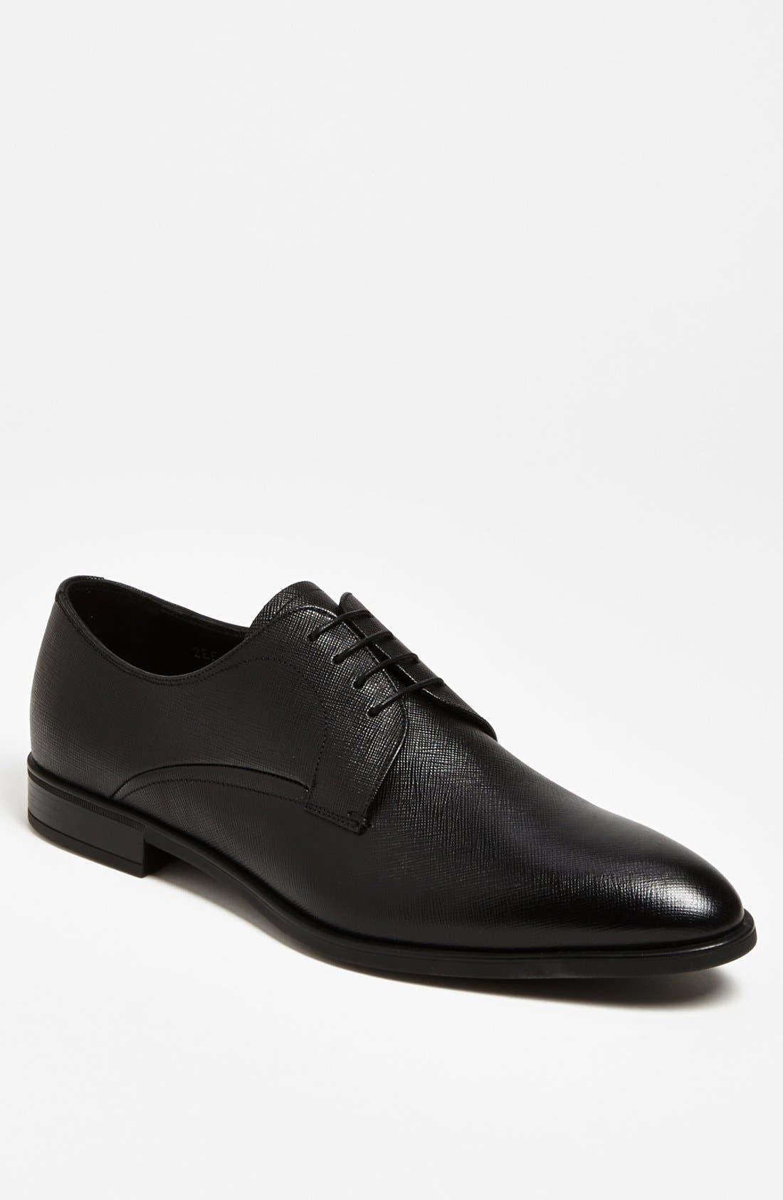Alternate Image 1 Selected - Prada Plain Toe Derby (Men)